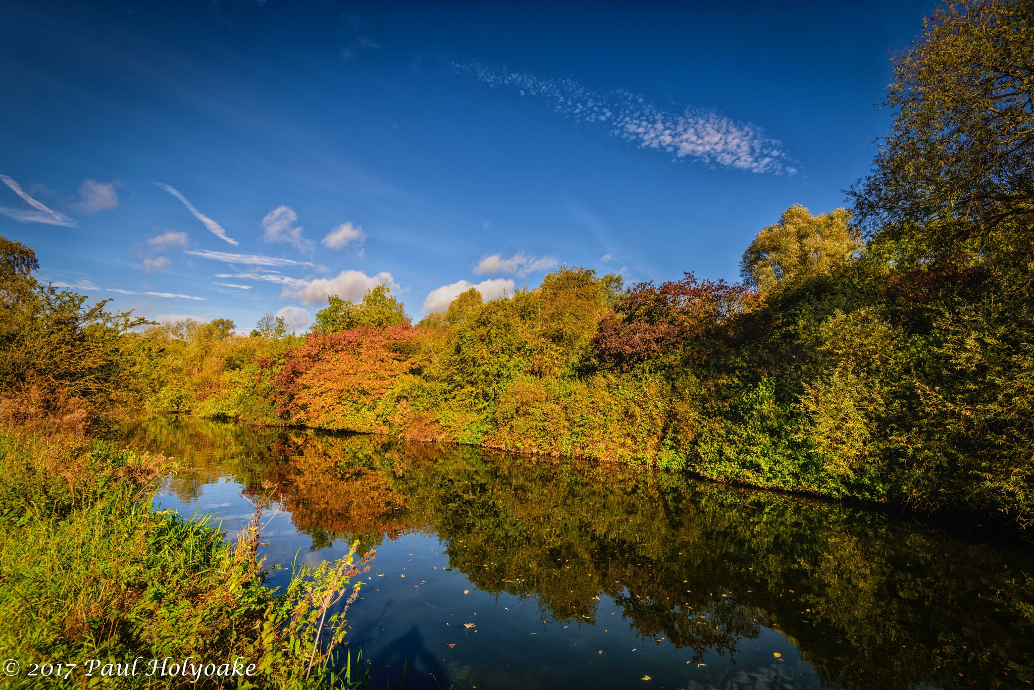 Autumn Reflections by Photon