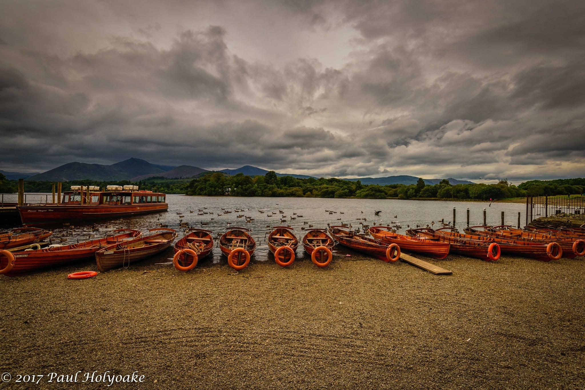 Keswick Boats by Photon