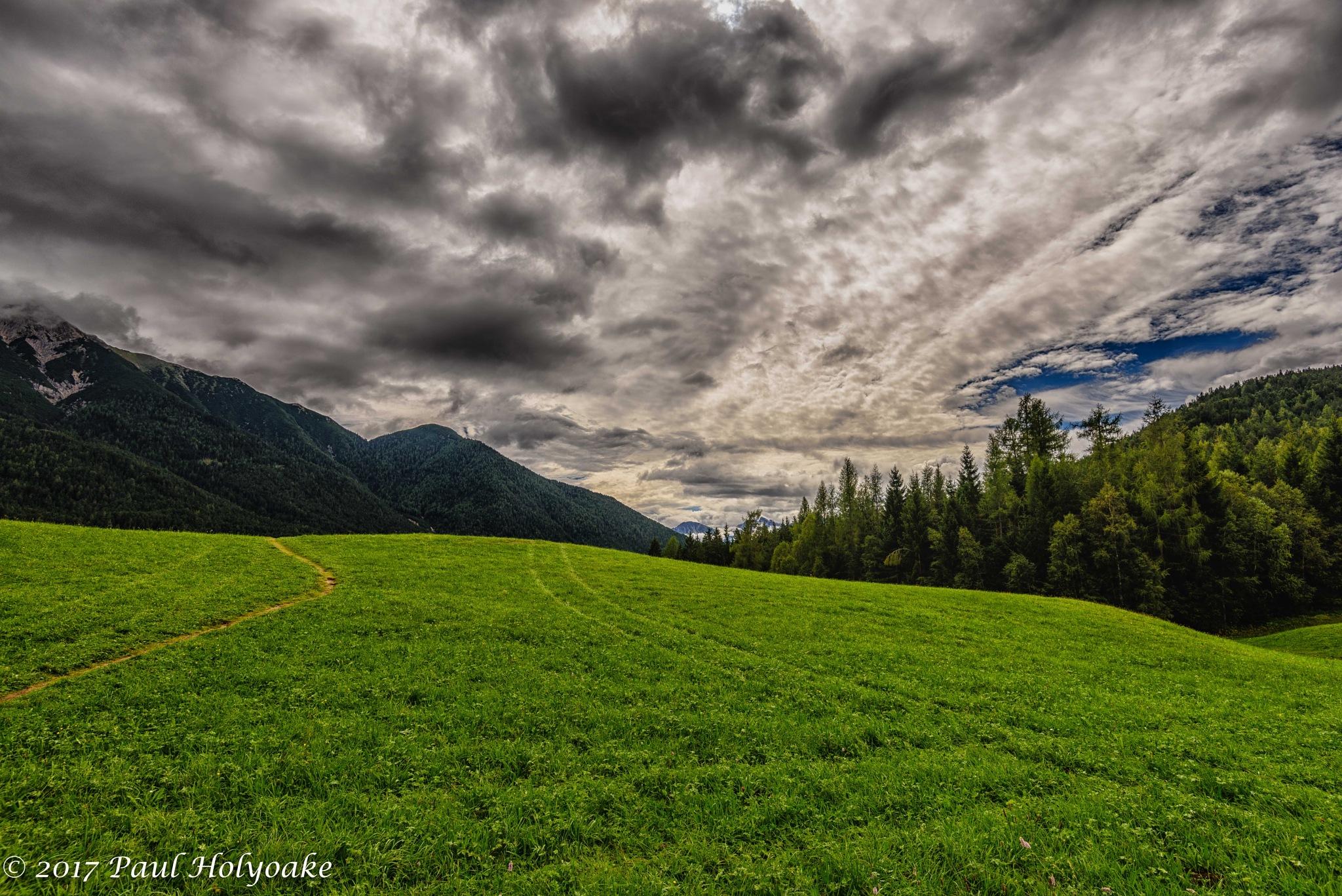 Alpine Cloudscape by Photon