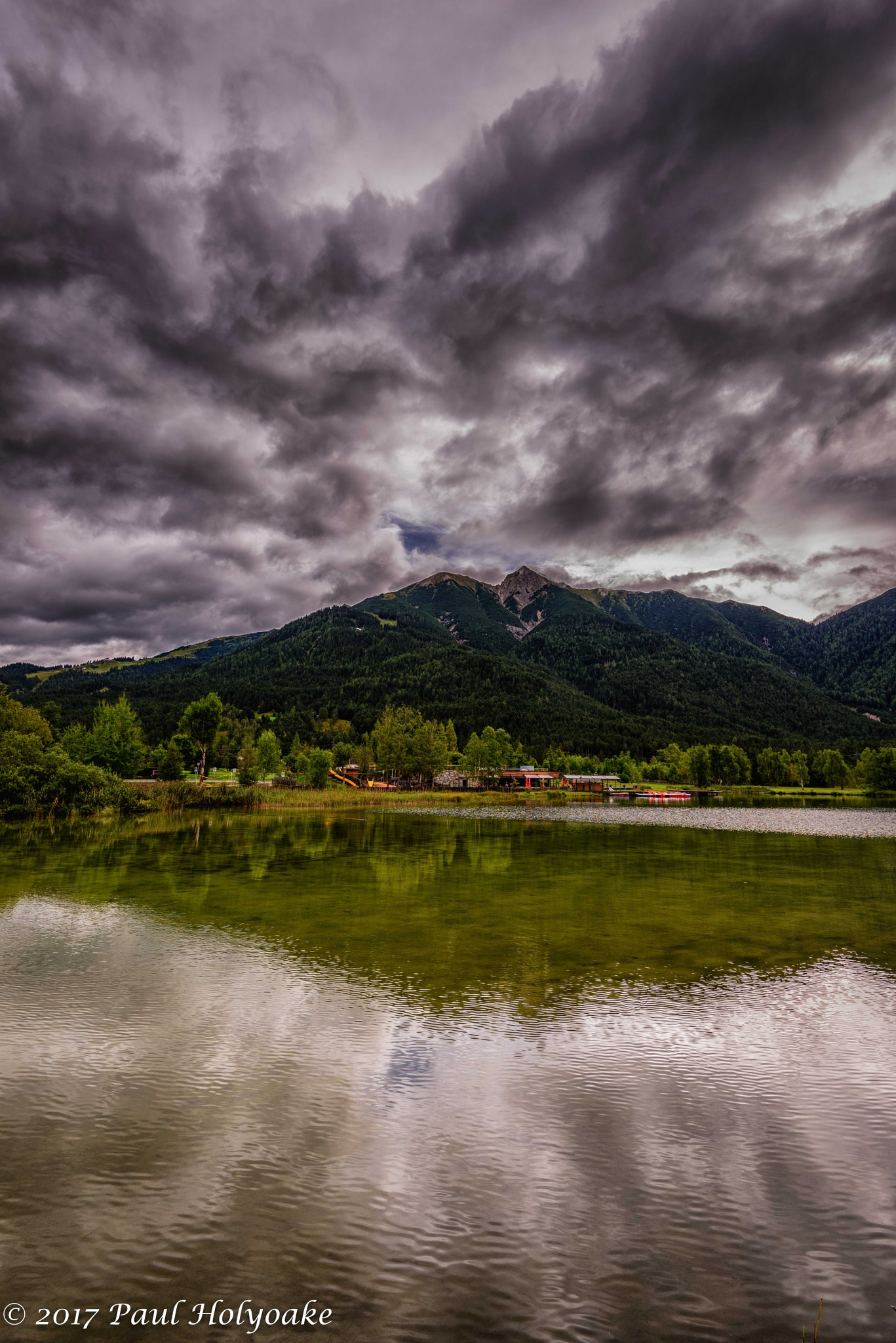Alpine Clouds by Photon