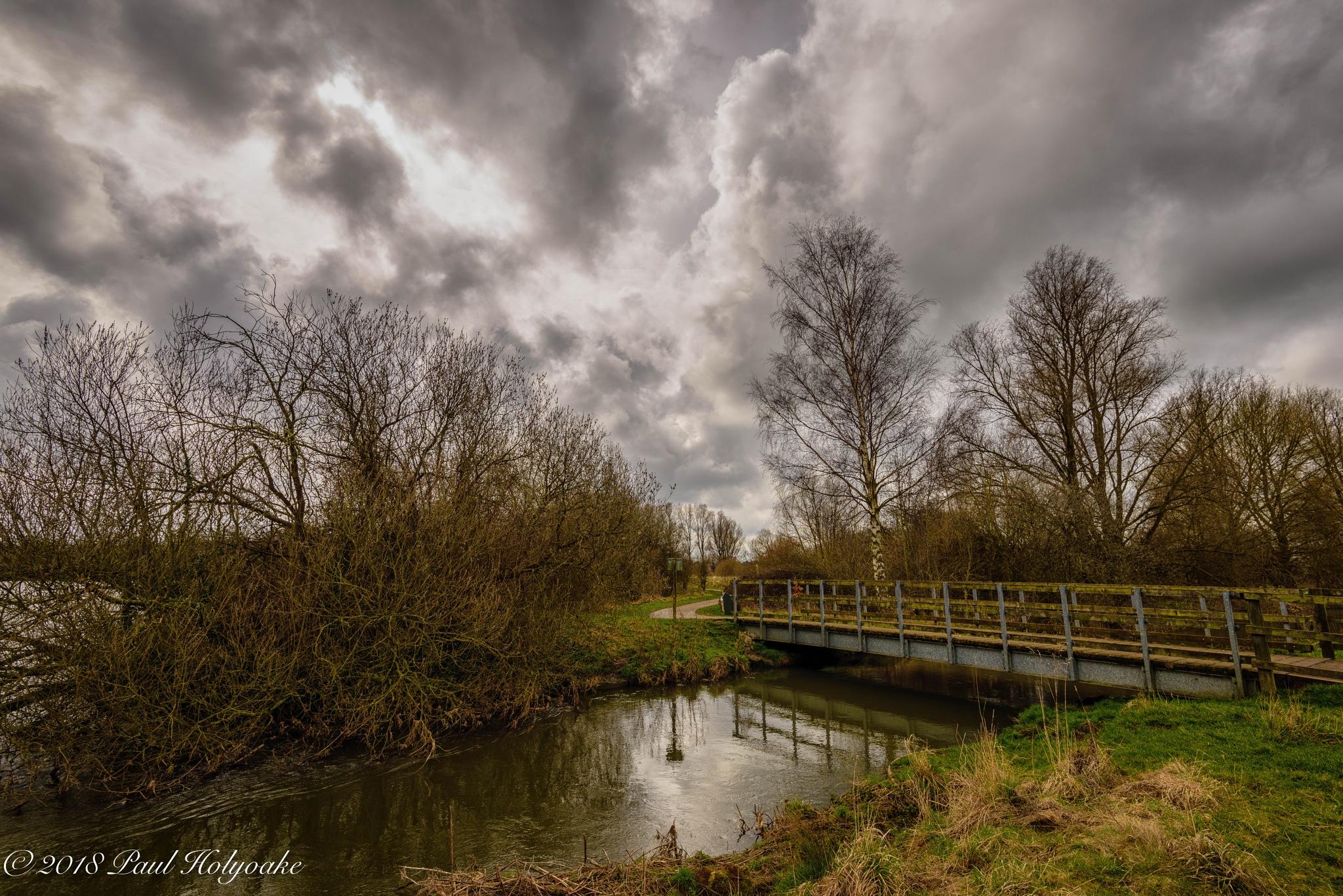 Footbridge by Photon