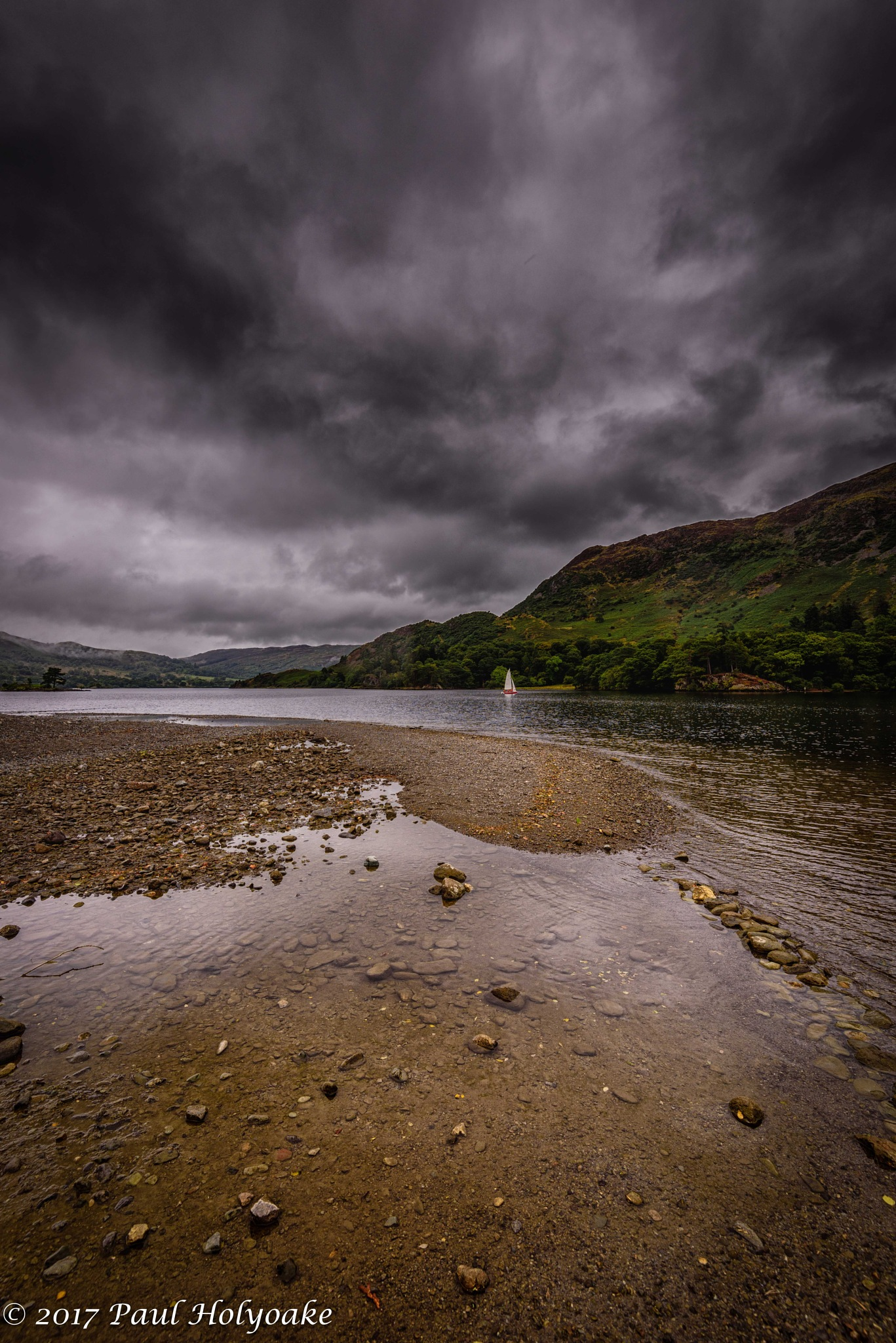 Sailing on Ullswater by Photon