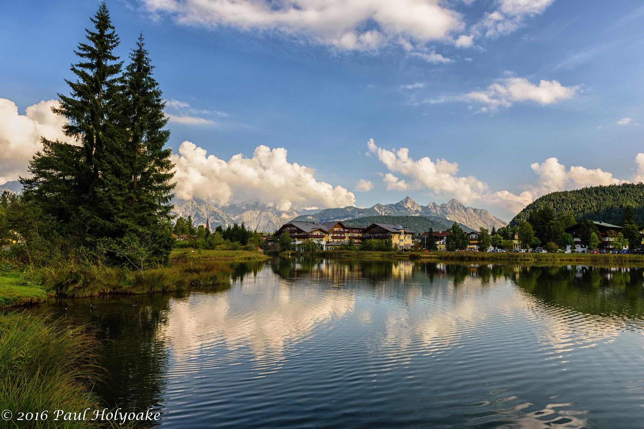 Lake Hotel by Photon