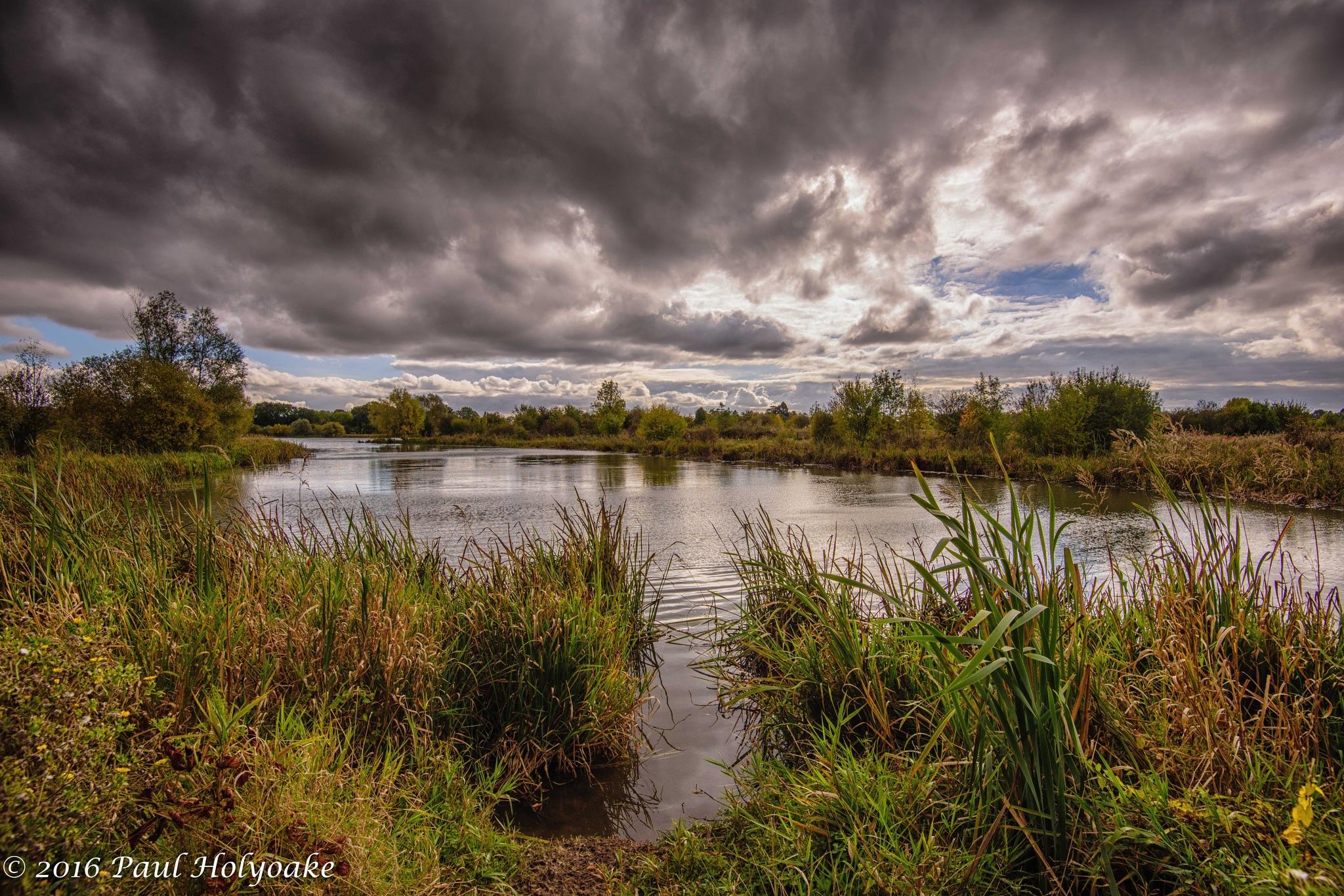 Hinchingbrooke Park Lake by Photon