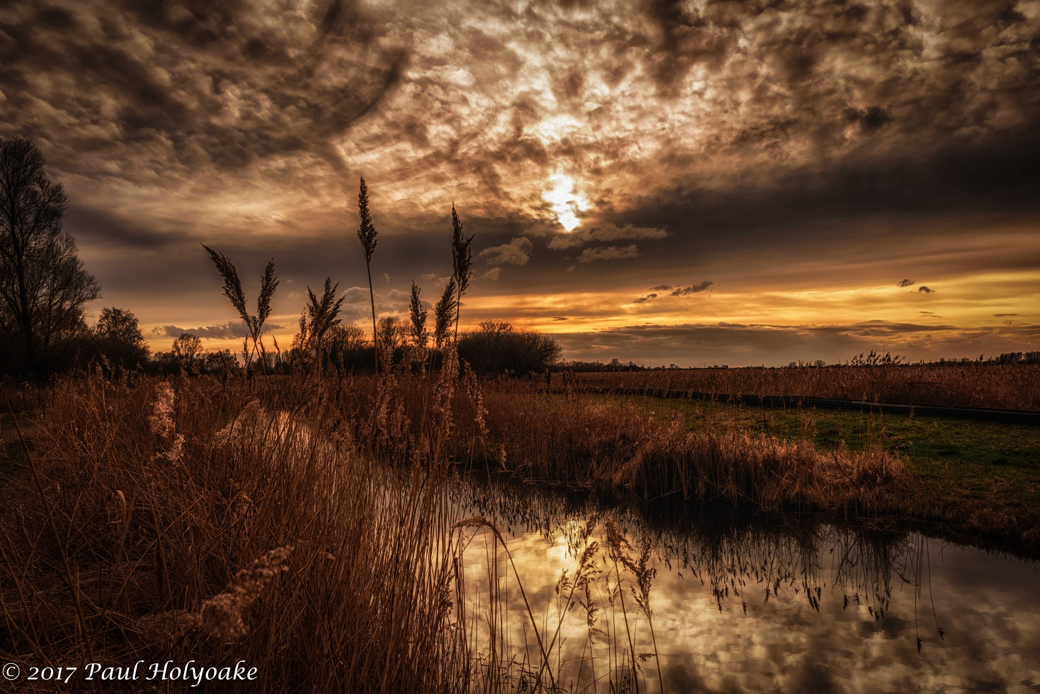 Fen Sunset by Photon