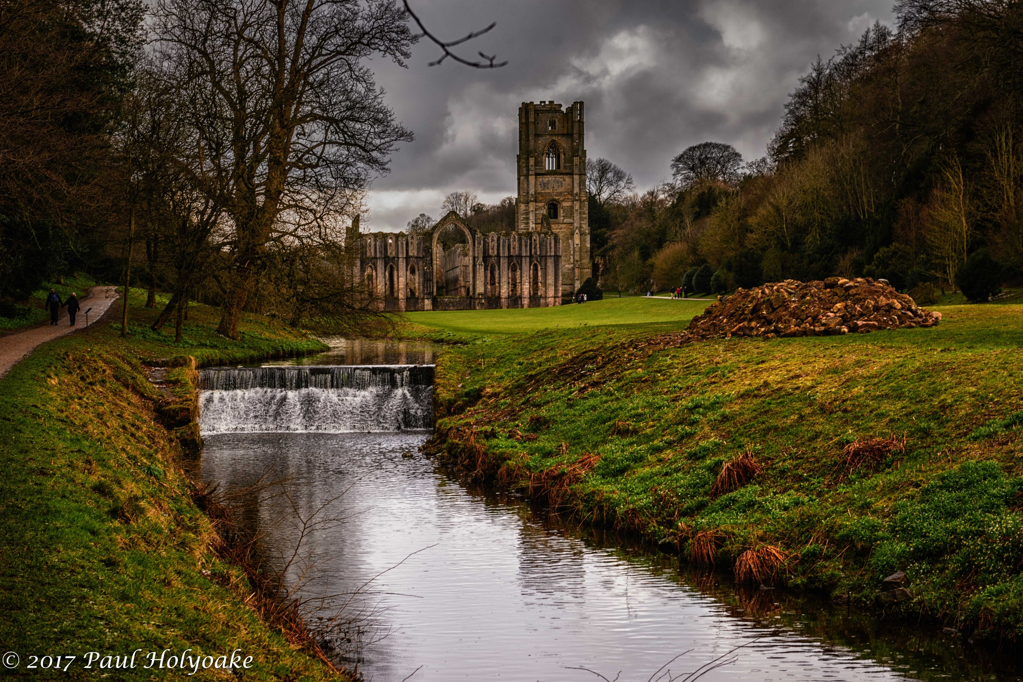 Fountains Abbey by Photon