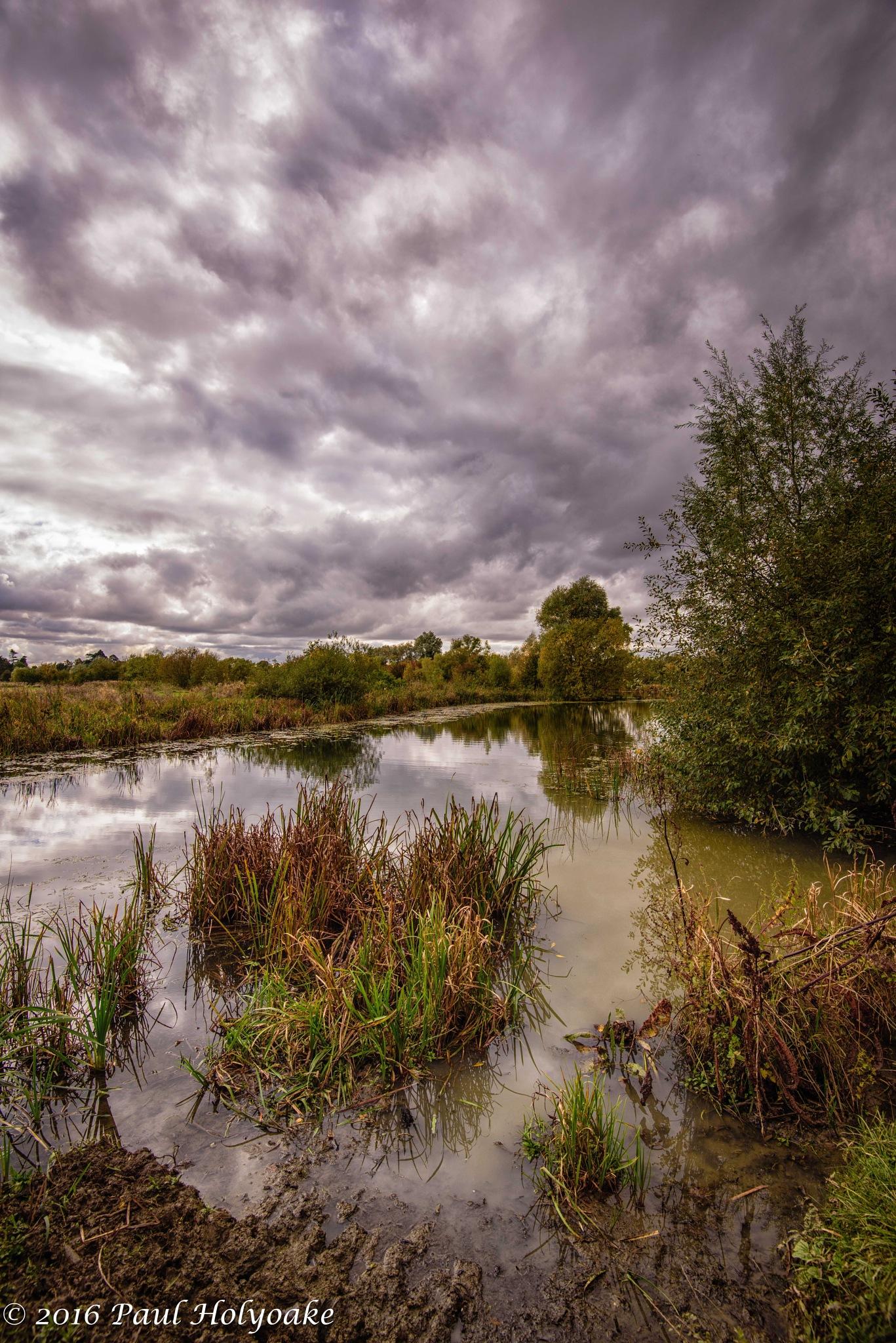 Muddy Reflection by Photon