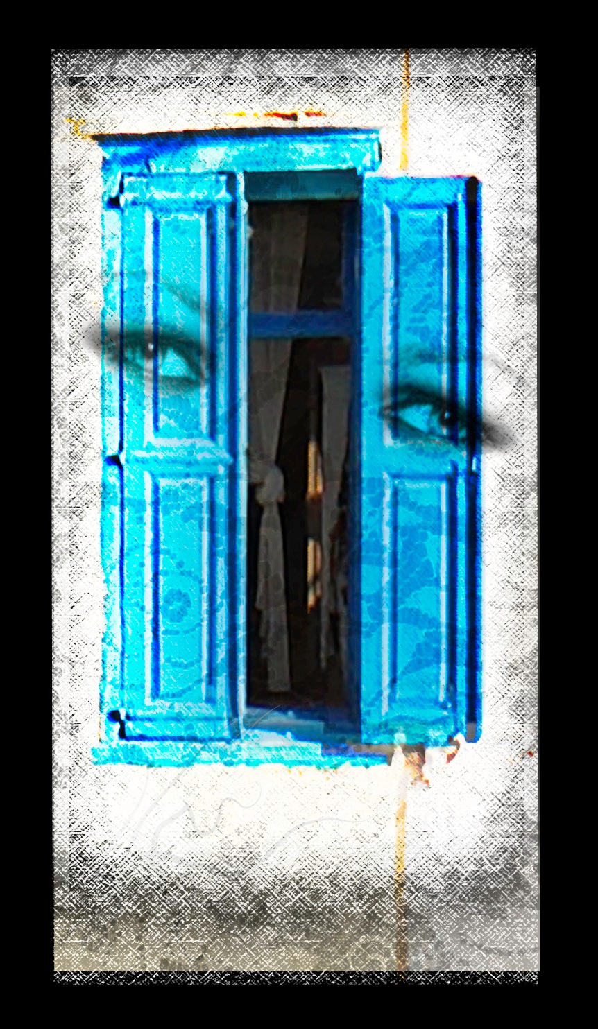 window, eyes, soul? by Lisa Booth