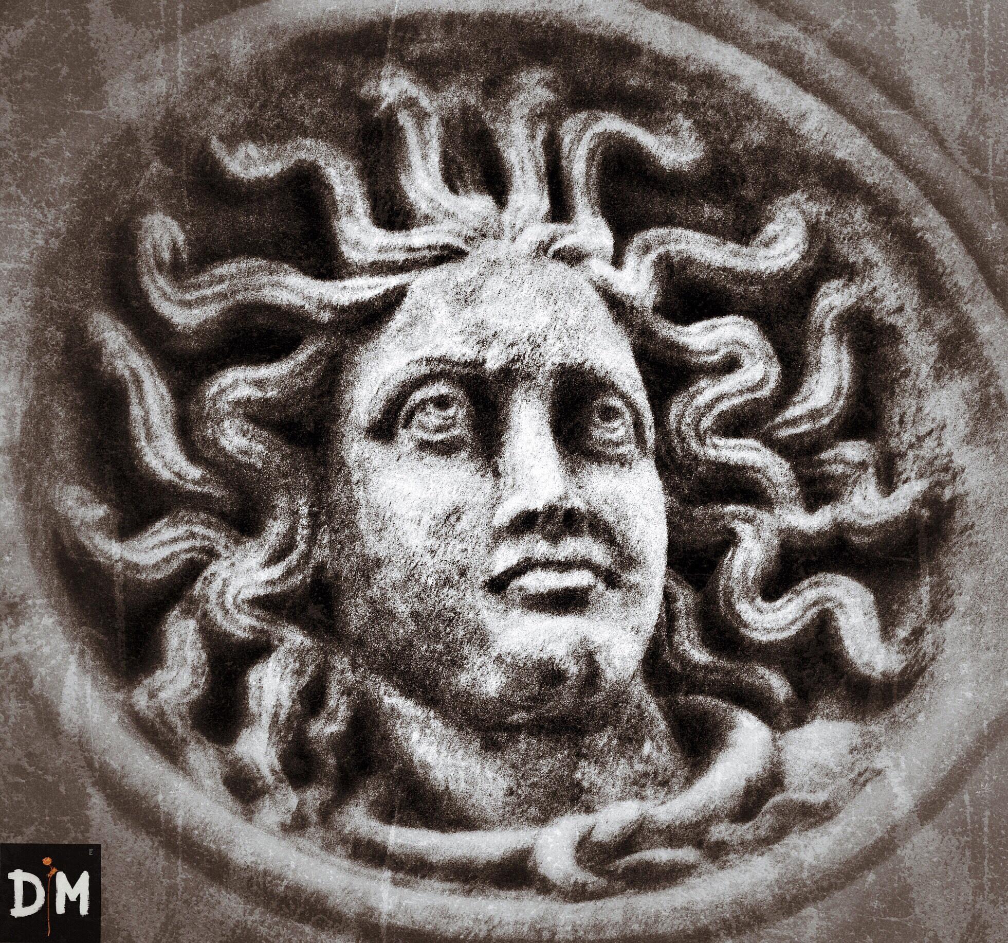 Medusa Head by D M