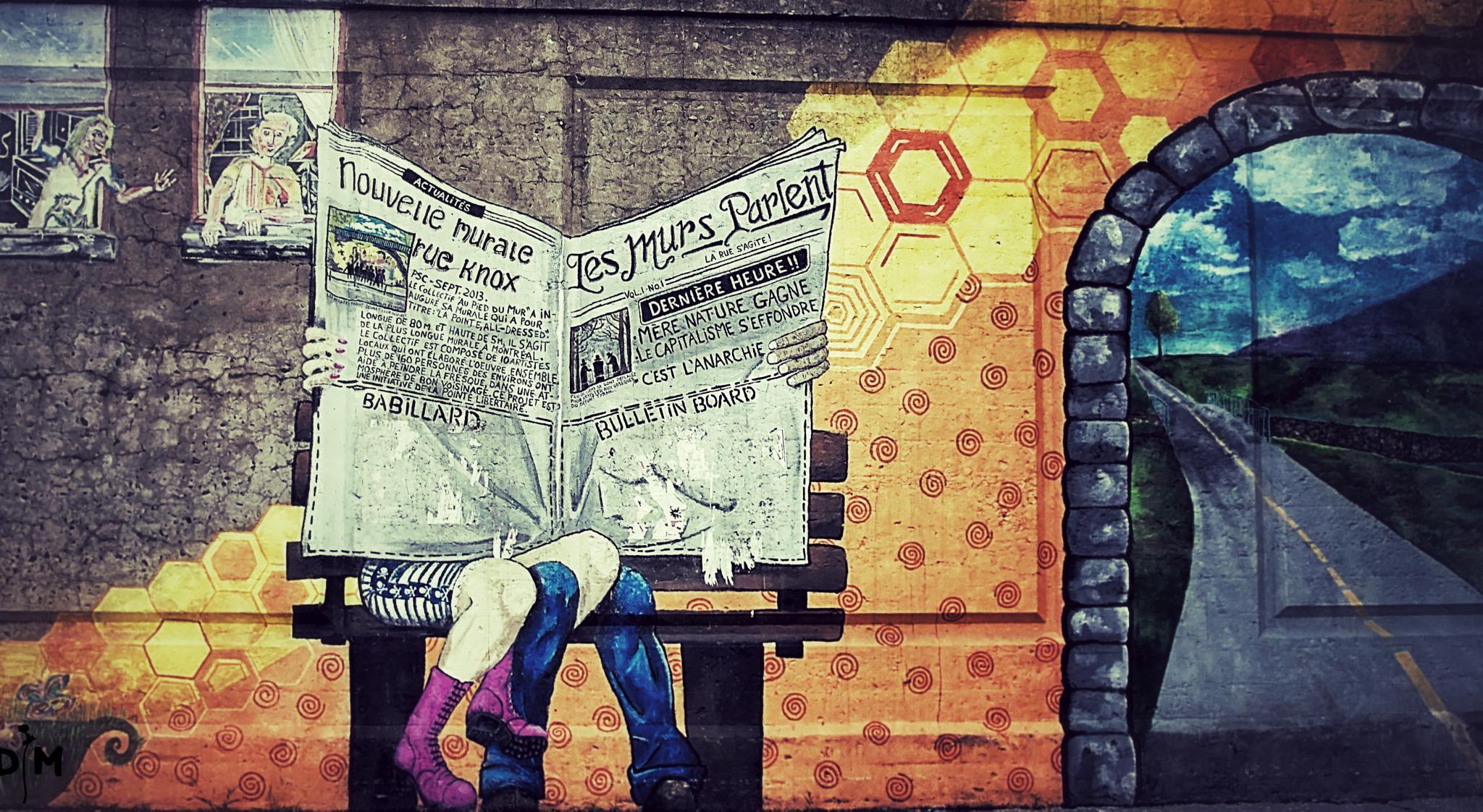 The Walls Speak by D M