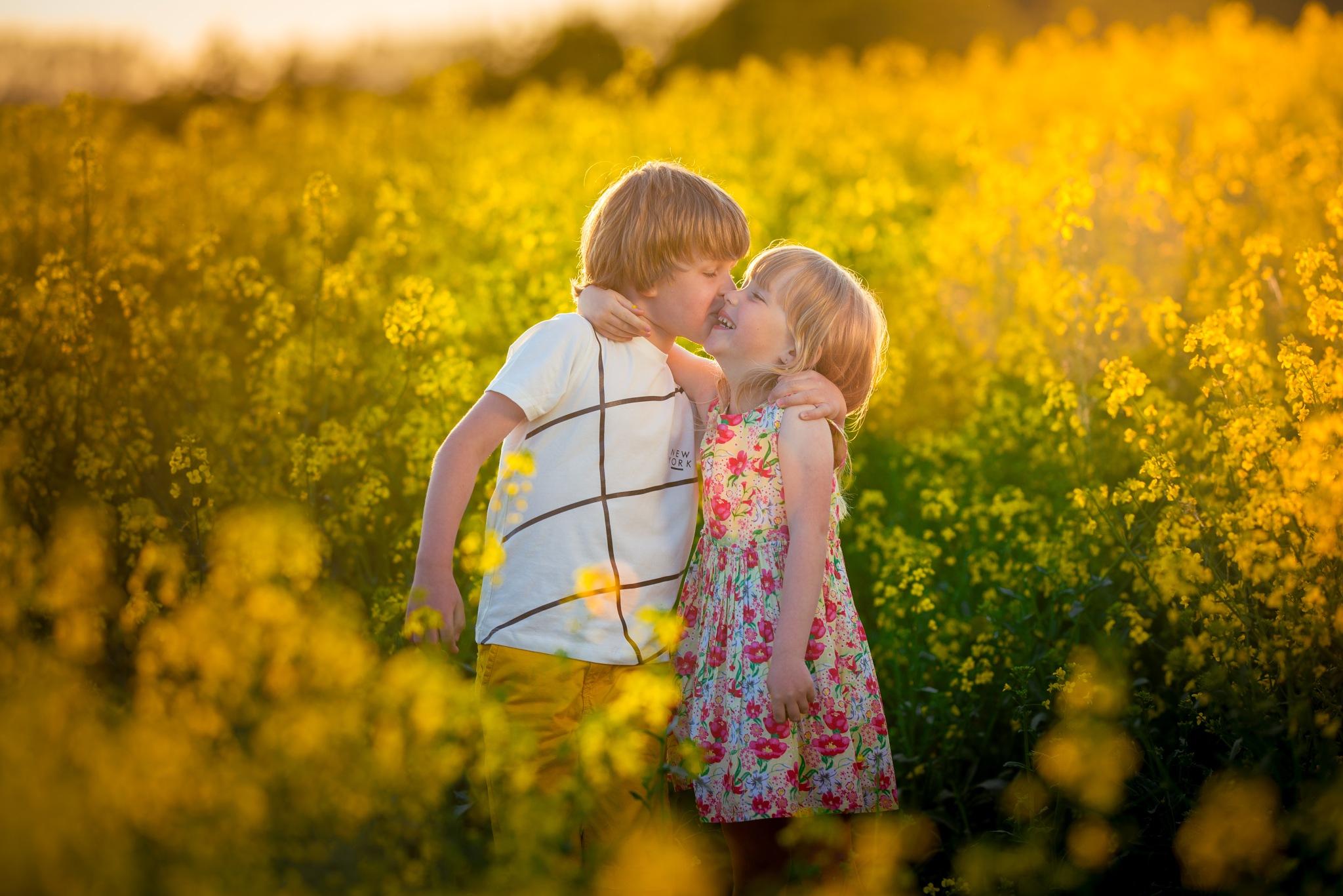 Sibling love by nejmil