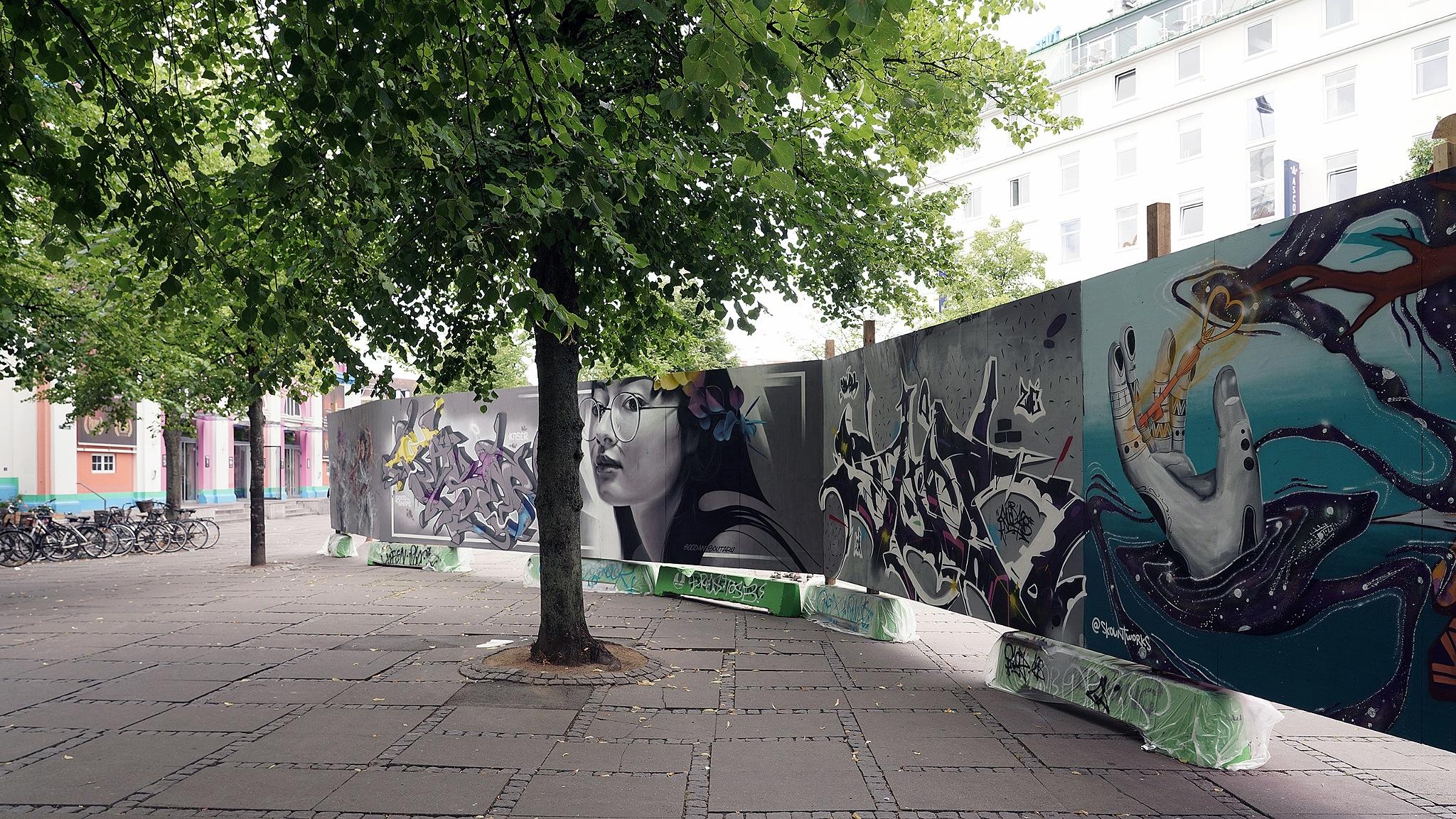 Street art, CPH by per f andersen