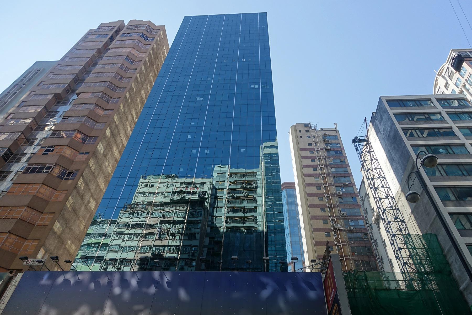sky scrapers Hong Kong by per f andersen