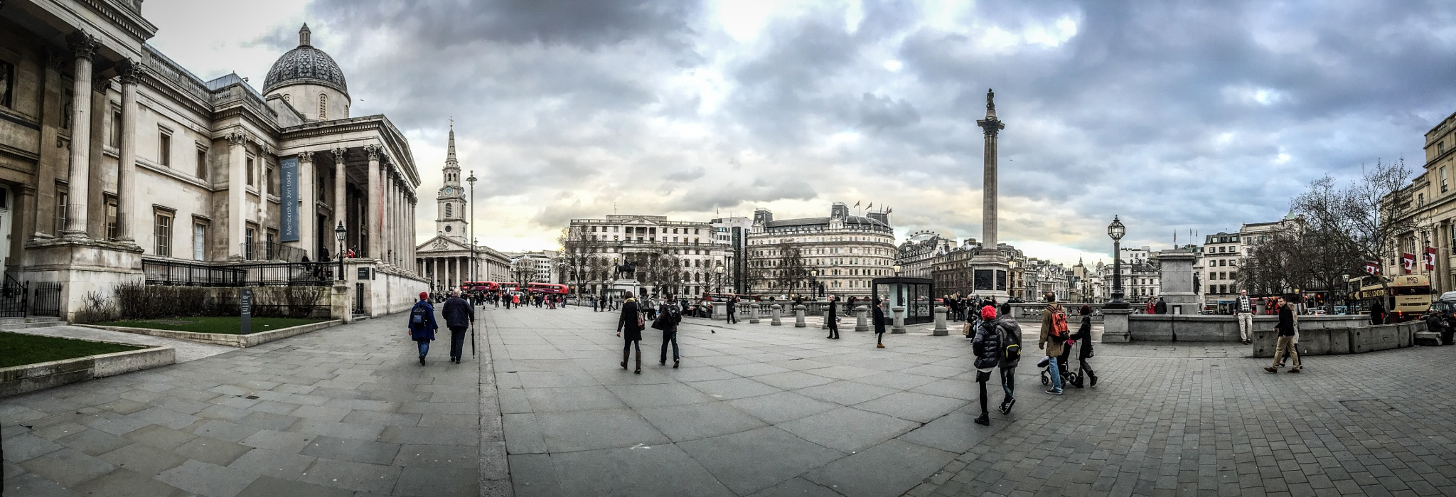 Trafalgar Square, London by FotoFlingScotland