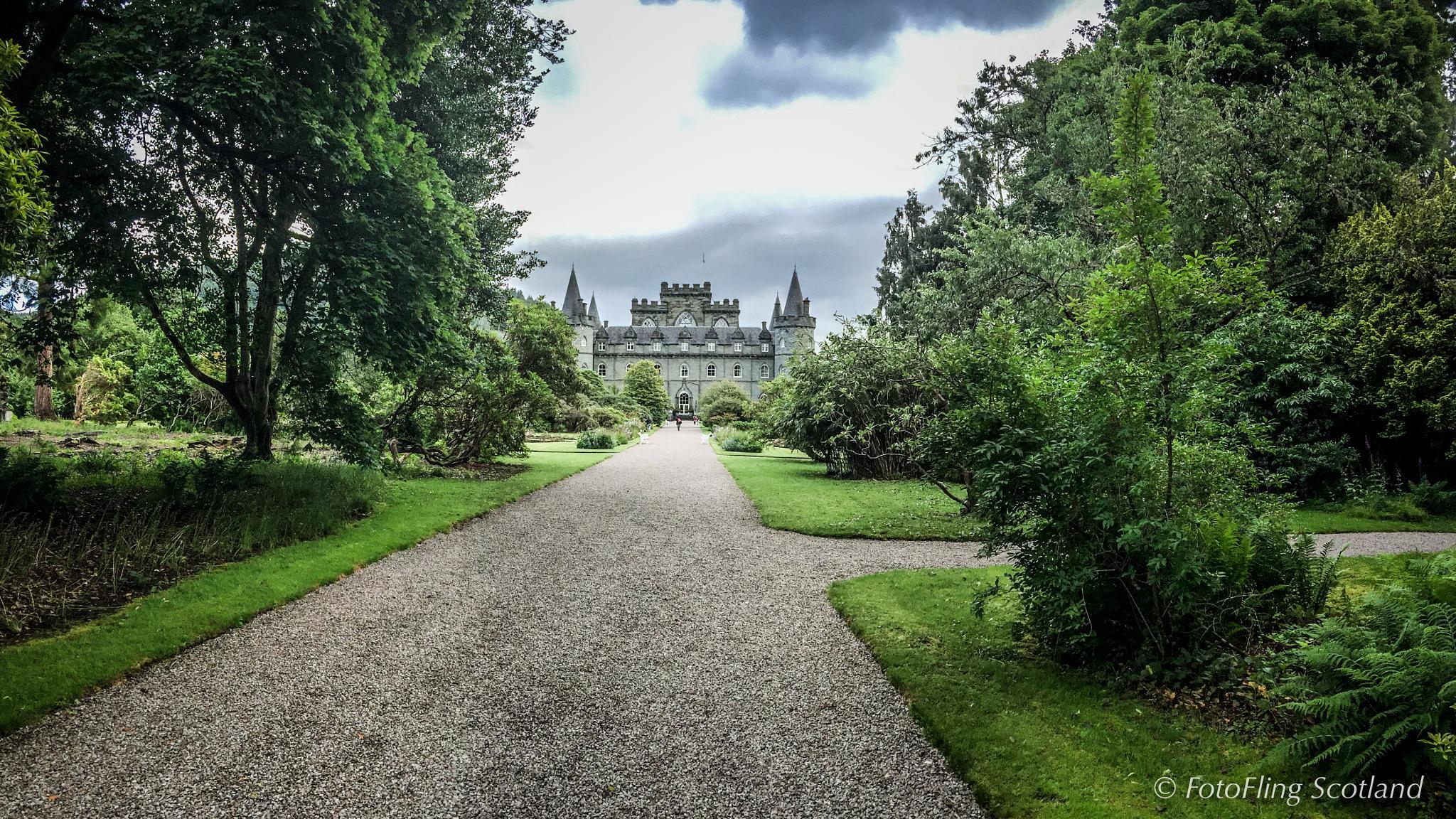 Inveraray Castle by FotoFlingScotland