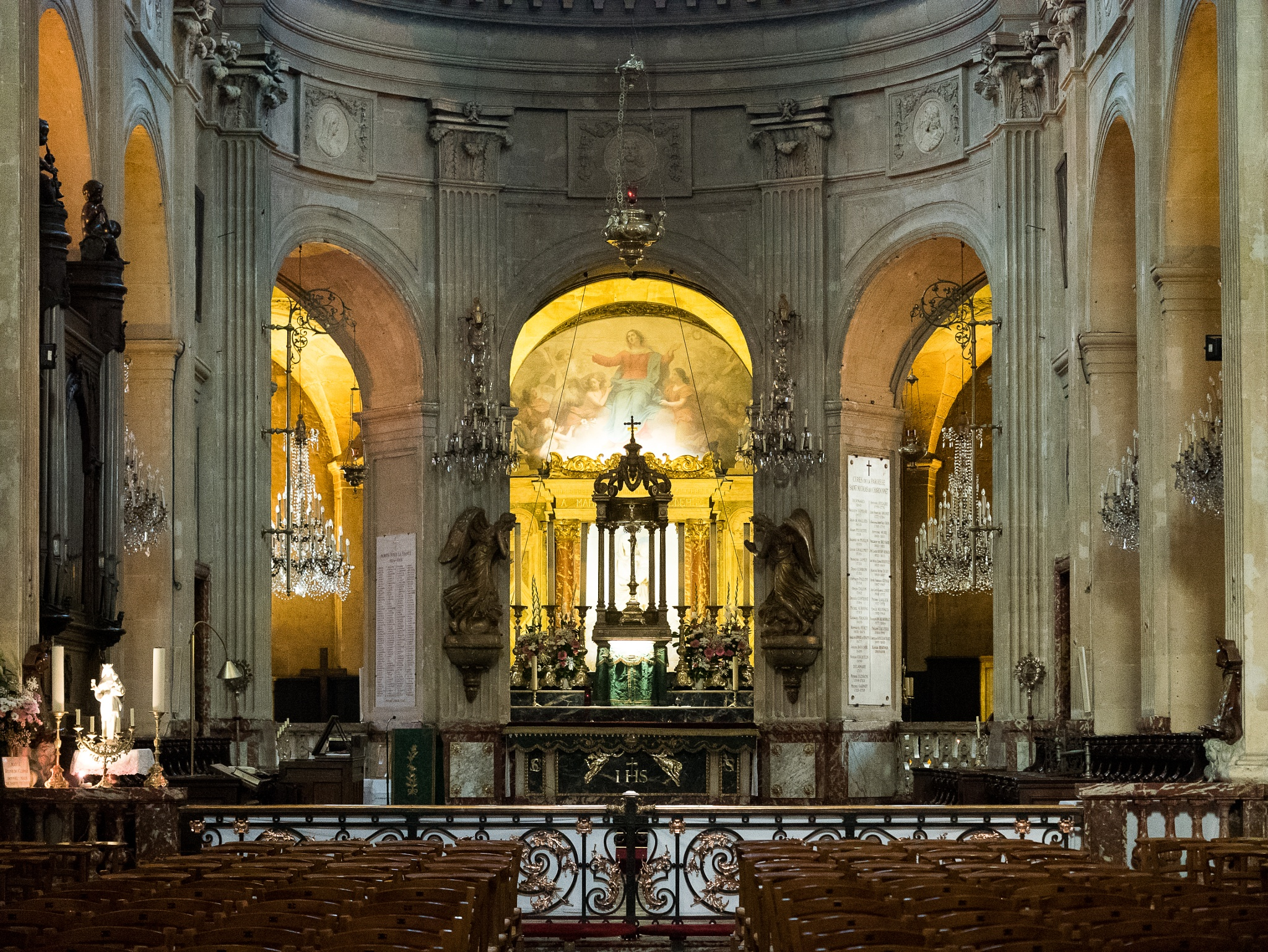 Saint-Nicolas du Chardonnet church, Paris by Martine de Lajudie