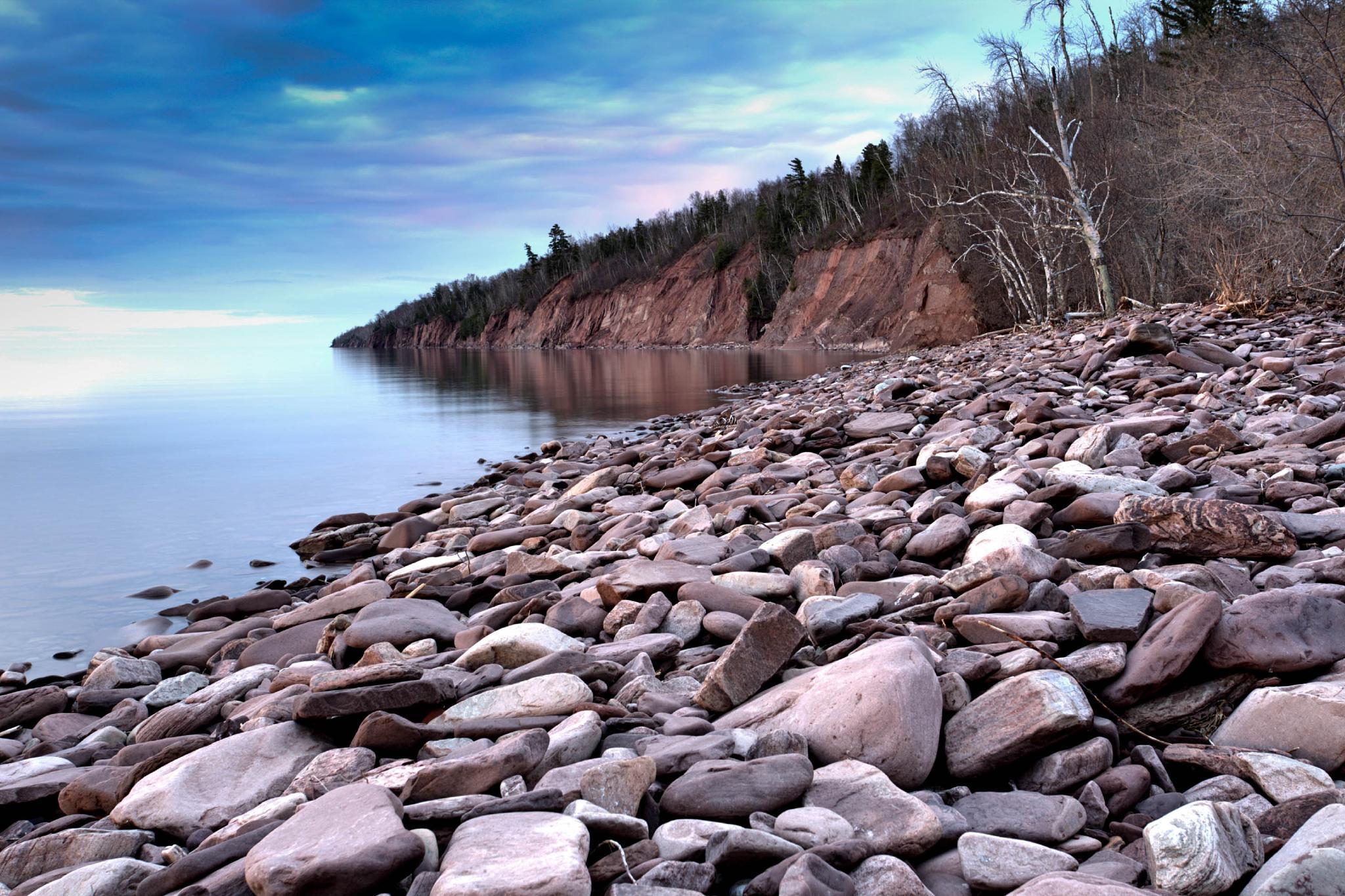 Superior Shoreline by Bertheaume