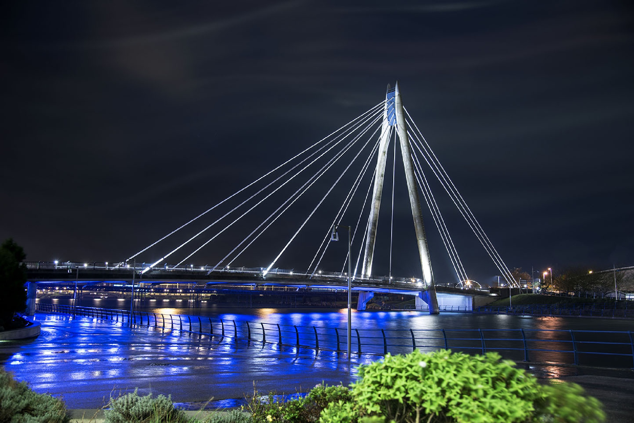 New Bridge in Southport Lancashire. by Chris Scopes