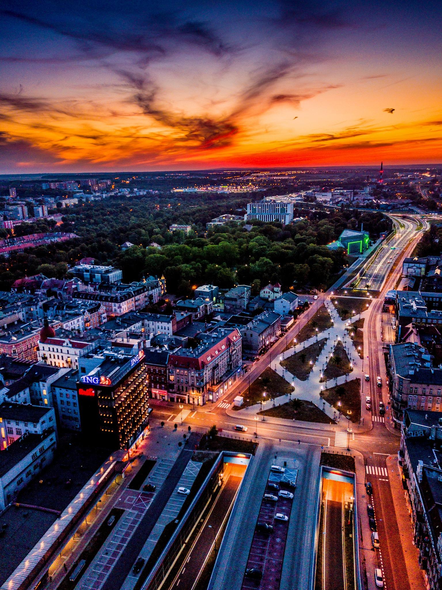 Summer sunset by Kuba Szymik