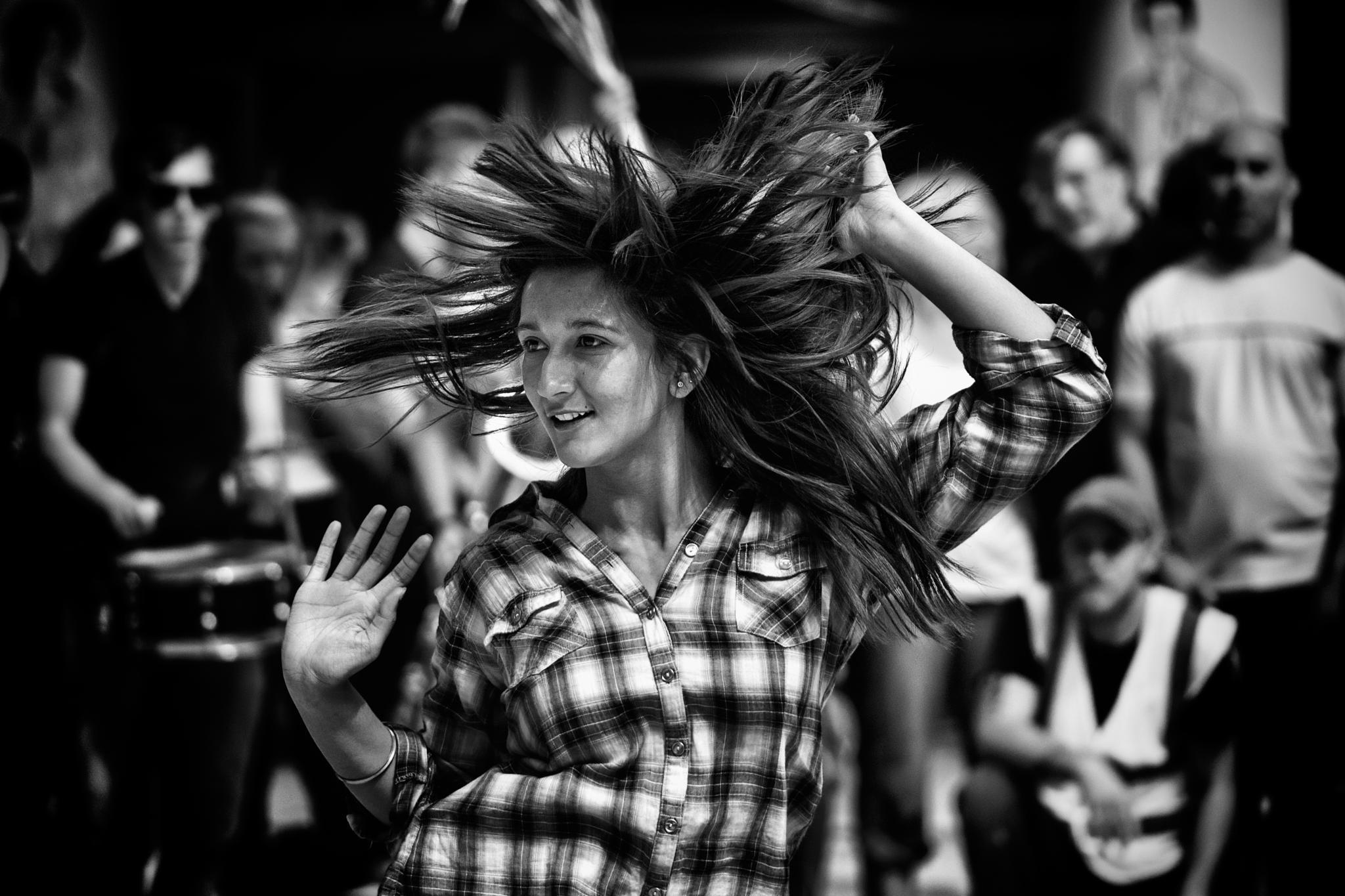 dancing in the street by stevewassell