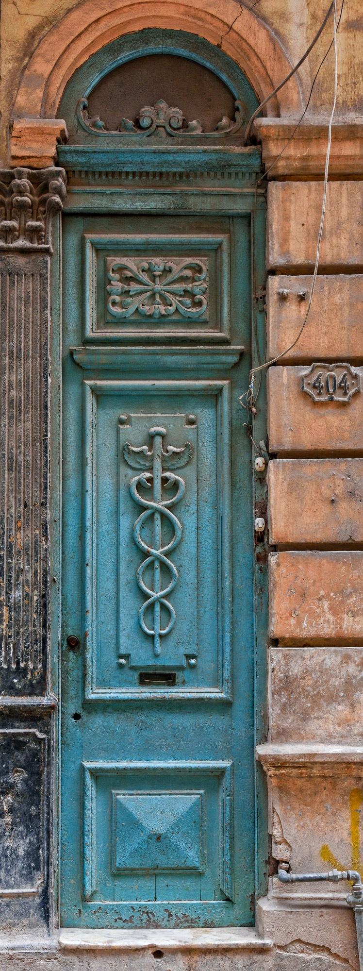 Doors of Havana #1 by Steve Director