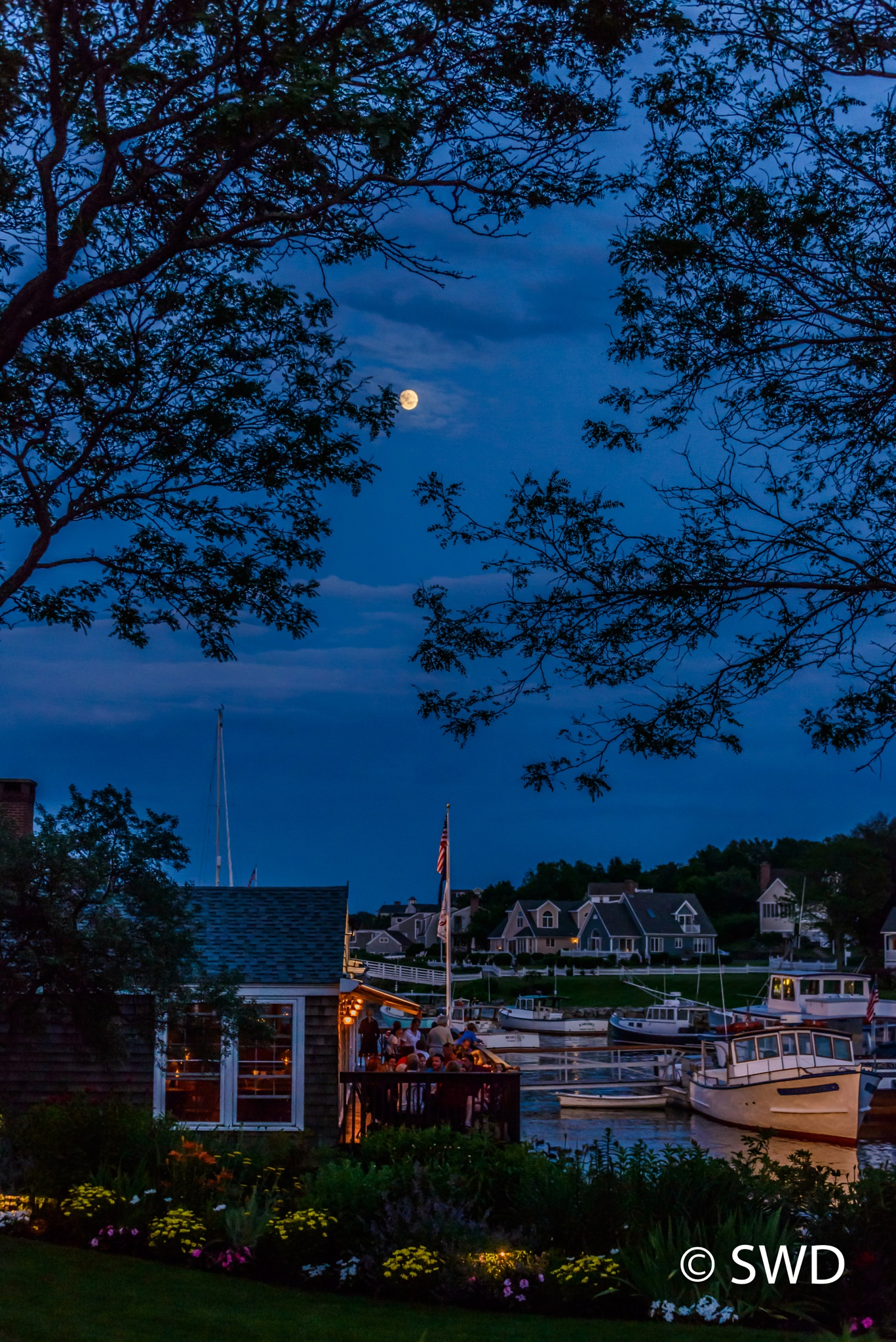 Perkins Cove, Maine by Steve Director