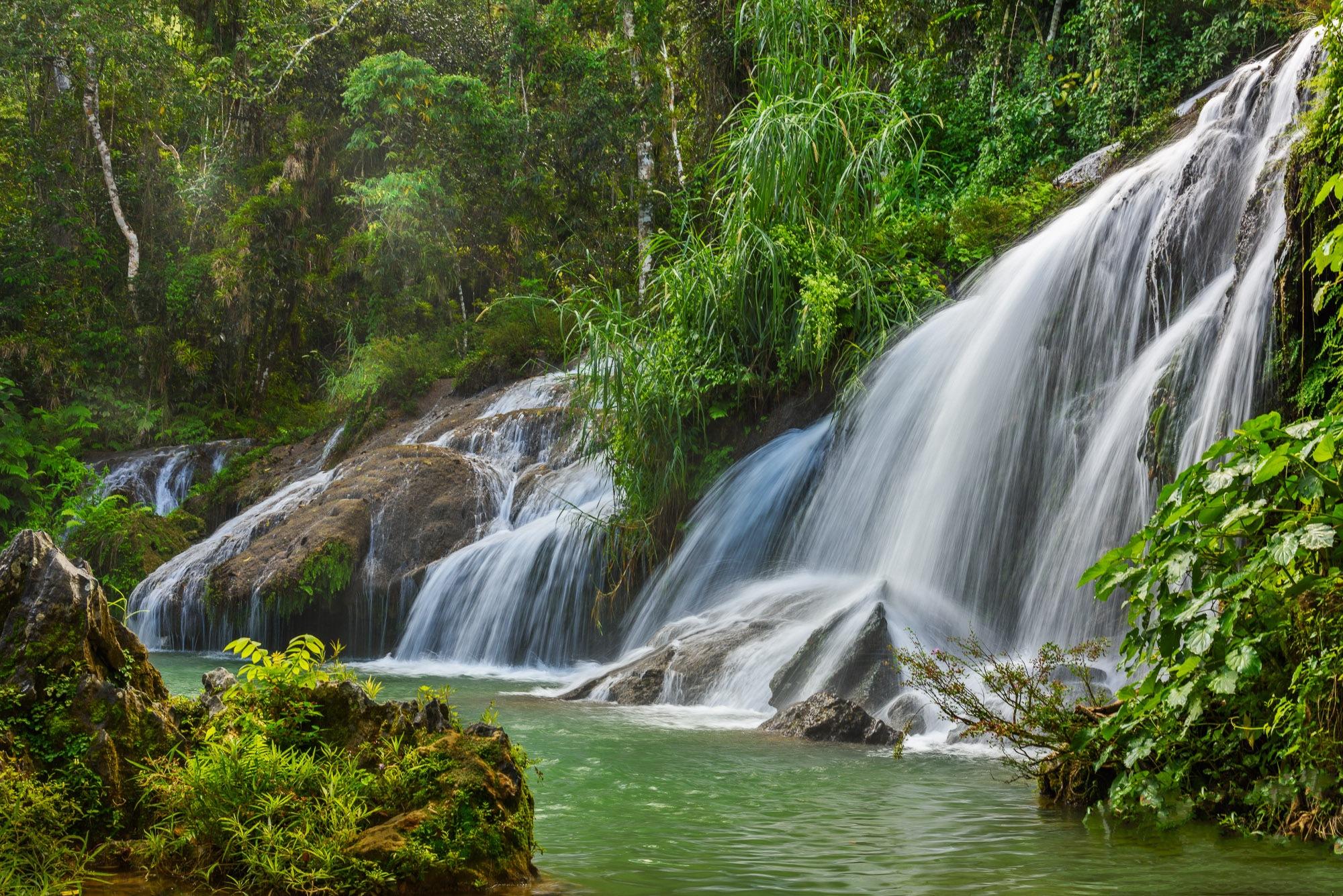 El Nicho Waterfalls, Sendero Reino De las Aguas, Cienfuegos, Cuba #2 by Steve Director
