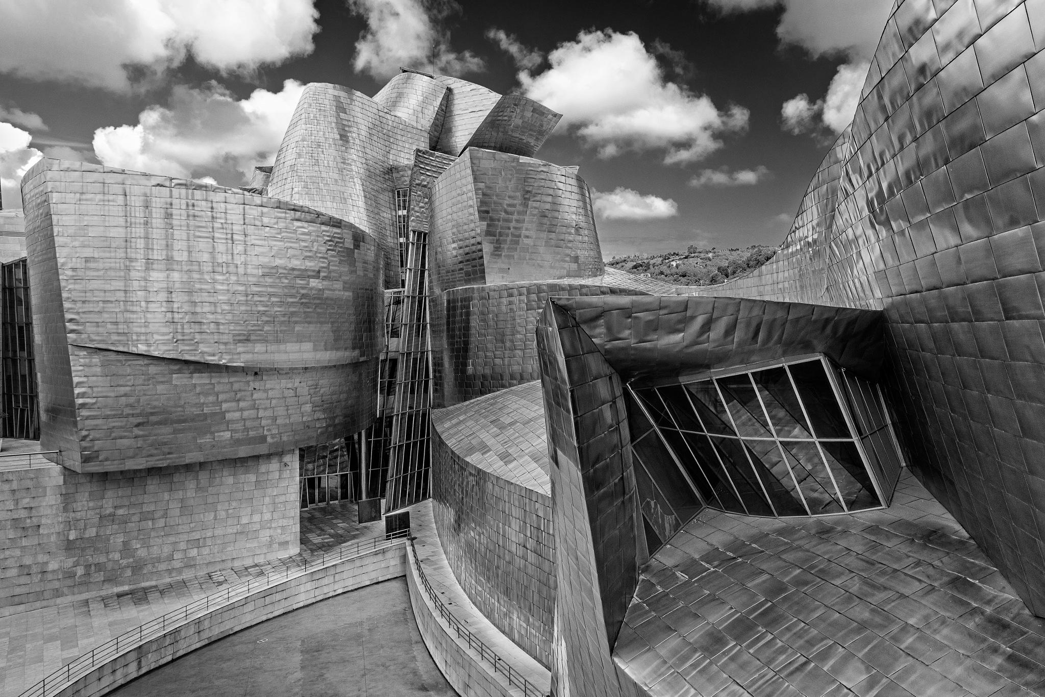 Guggenheim Museum, Bilbao by Steve Director