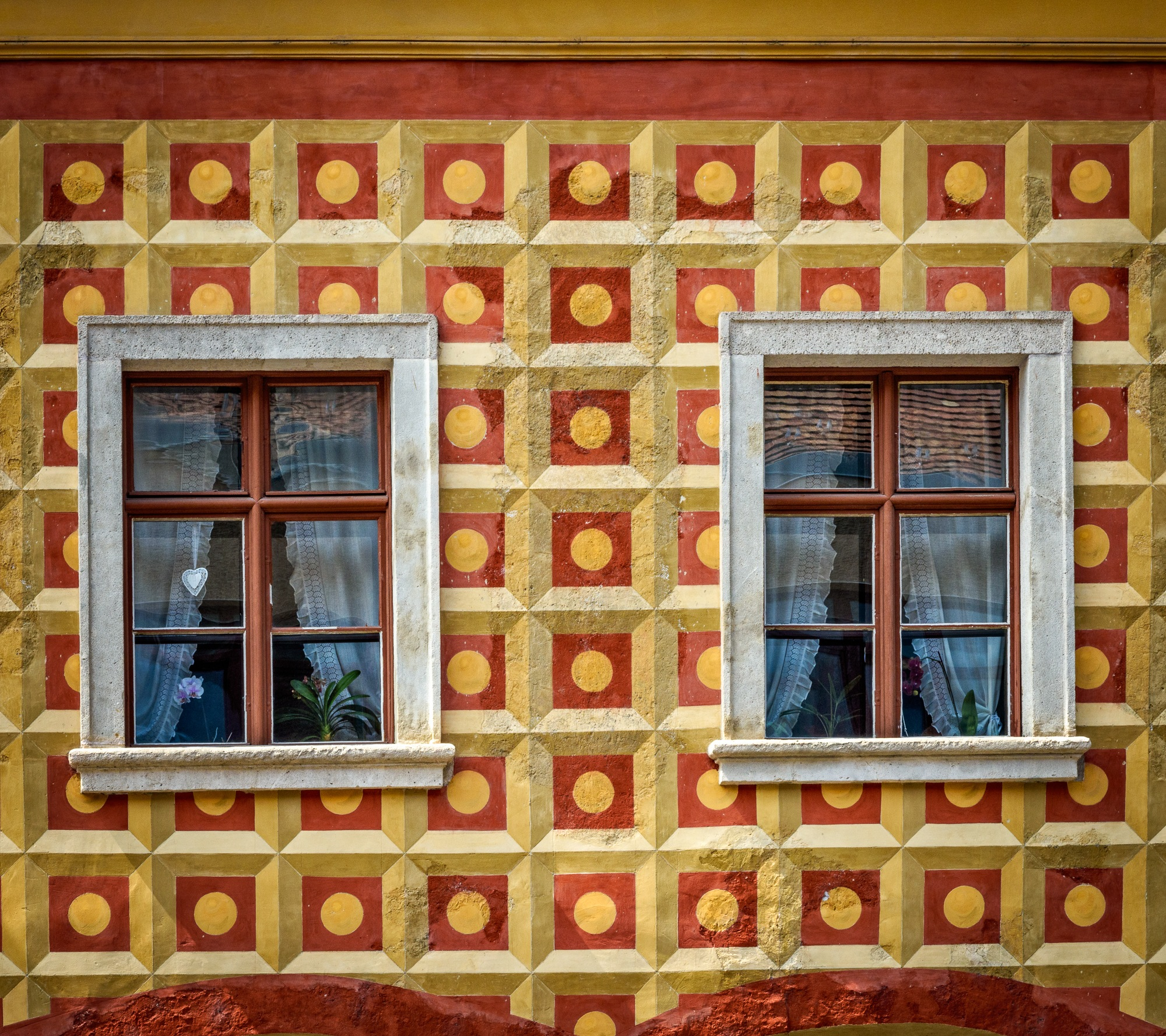 Windows of Budapest by Steve Director