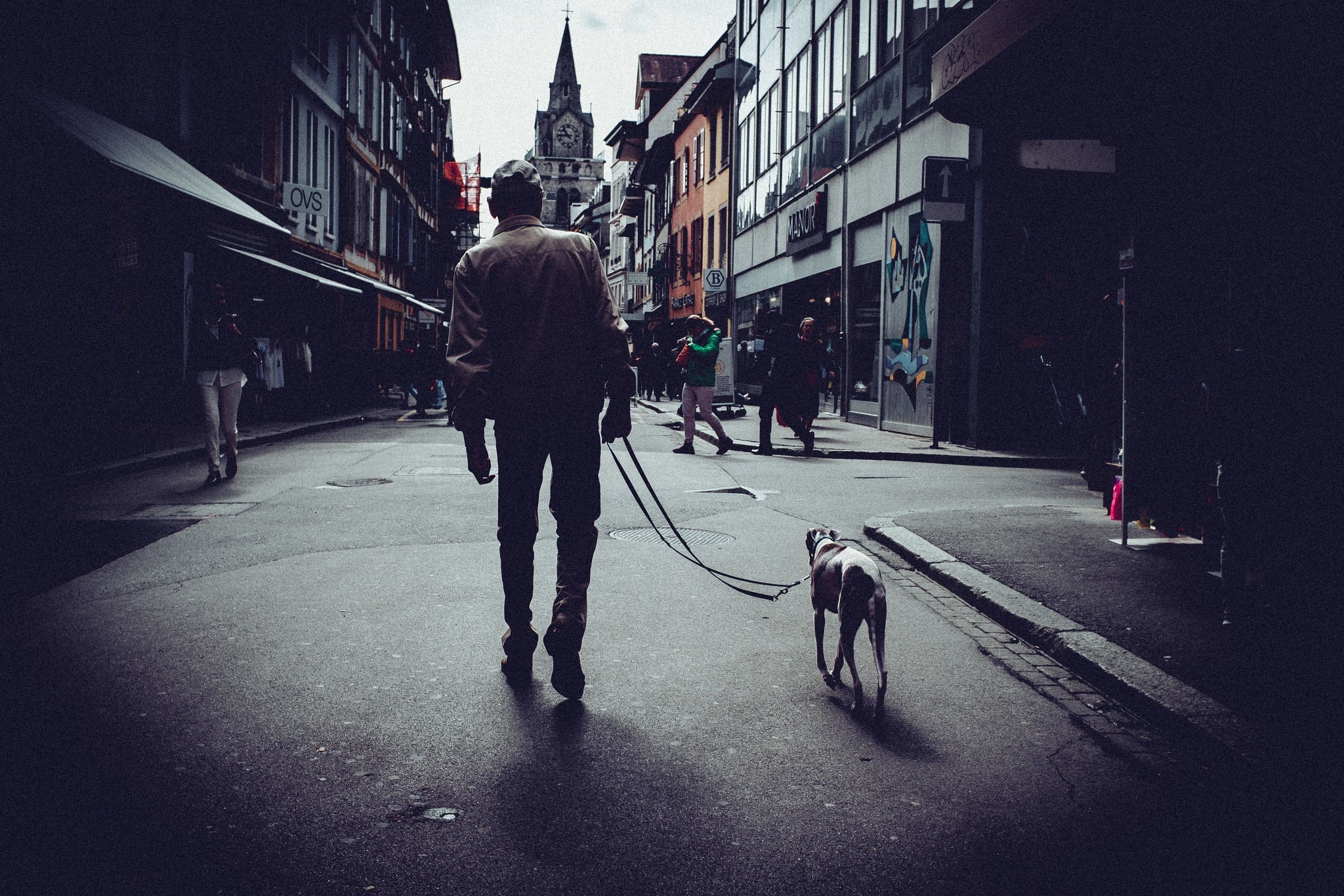 I walk a lonely road by Cris Estalayo