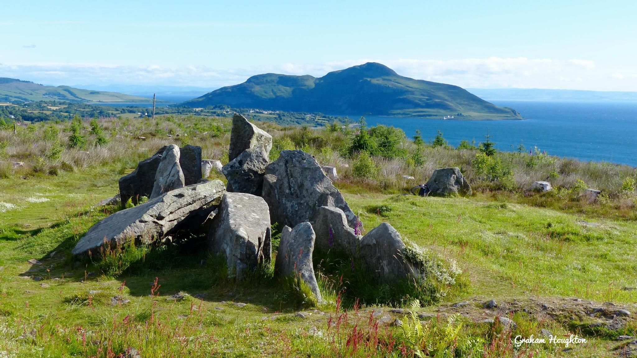 Giant's graves Arran by Graham Houghton
