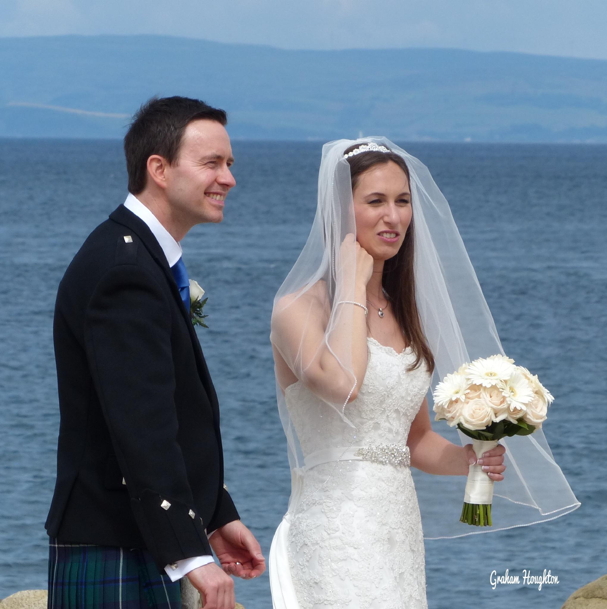 Scottish wedding by Graham Houghton