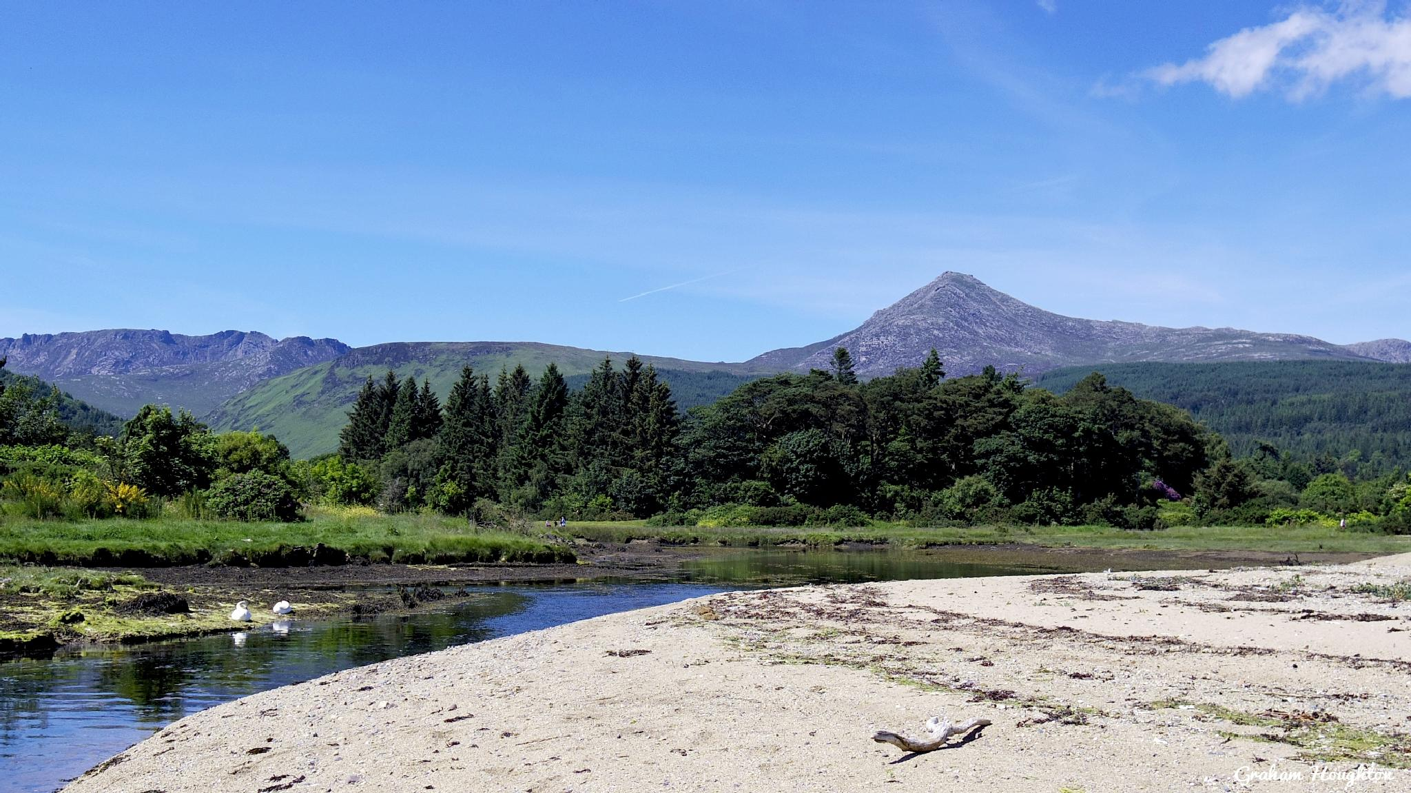 Goatfell from Brodick, Arran by Graham Houghton