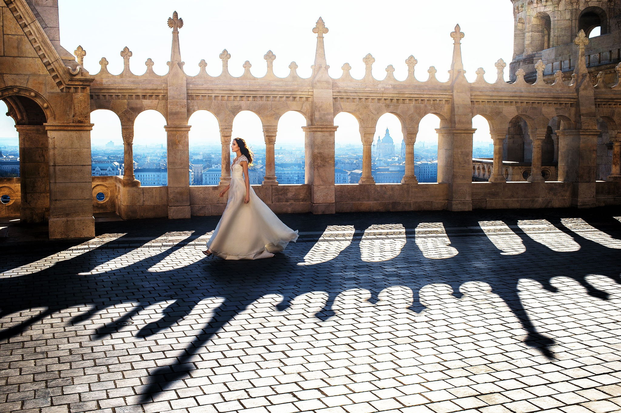 Photo in Wedding #sobokar #weddingphotographer #bride #portrait #light #castle #weddingdress #budapest #professionalphotography #lovestory #wedding #weddingphoto #sobokar.com