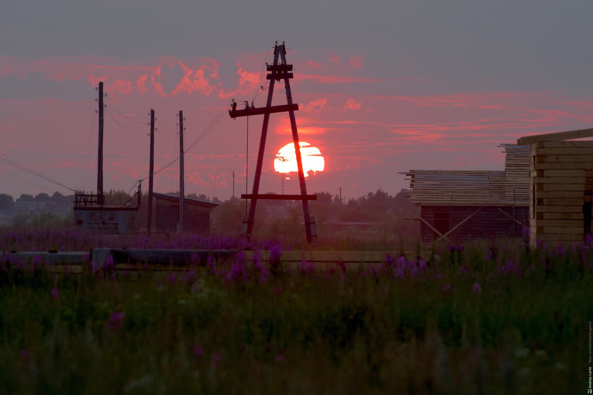 Sun set by engine9