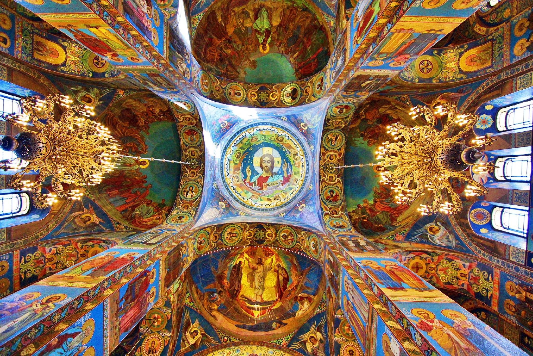 Church of Our Savior on the Spilled Blood in St Petersburg by rennypuspita11