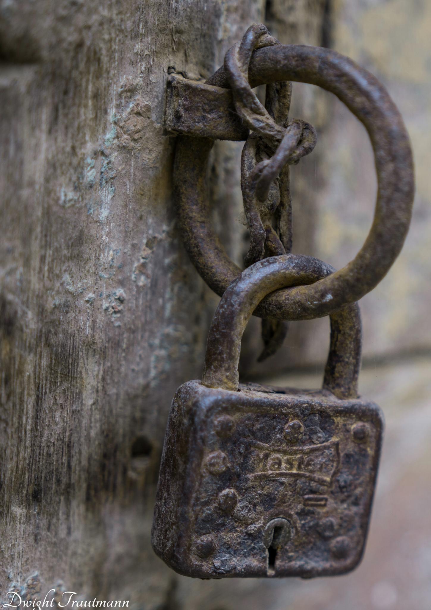 Rusty Lock by Dwight