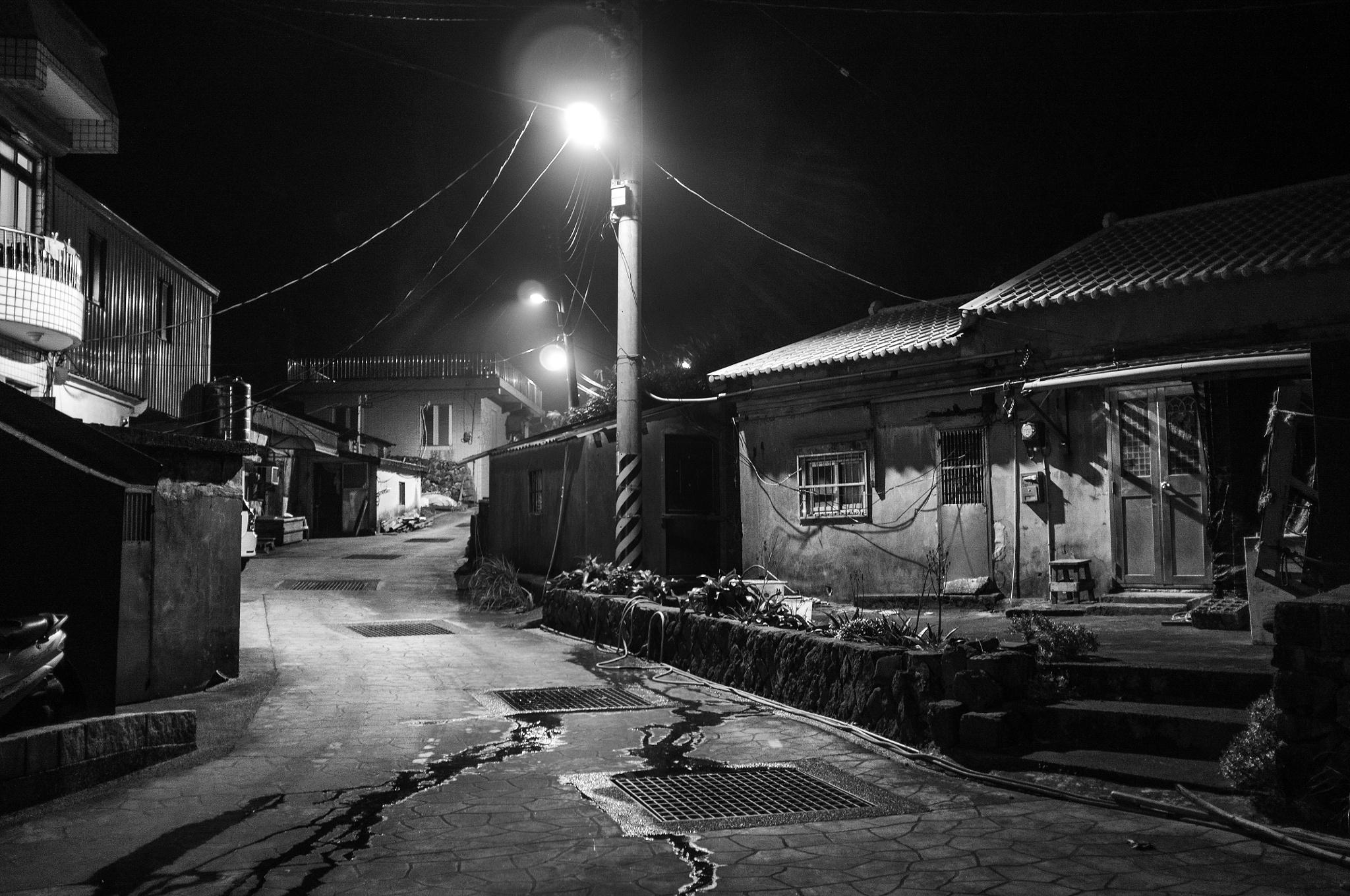 Night's whisper by Ansel Wang