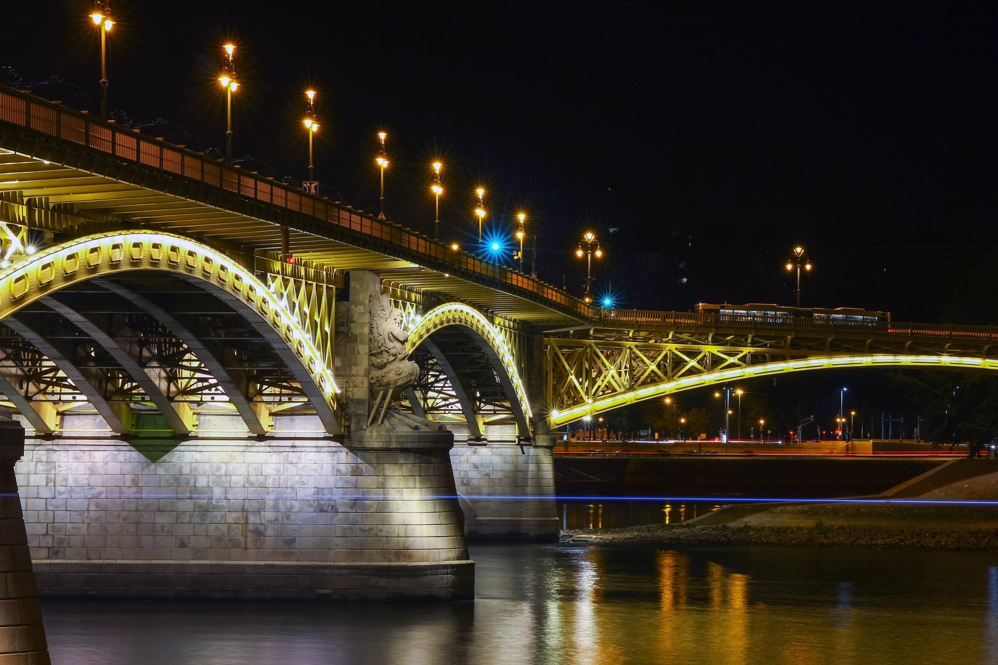 Margaret Bridge by Kovács Péter