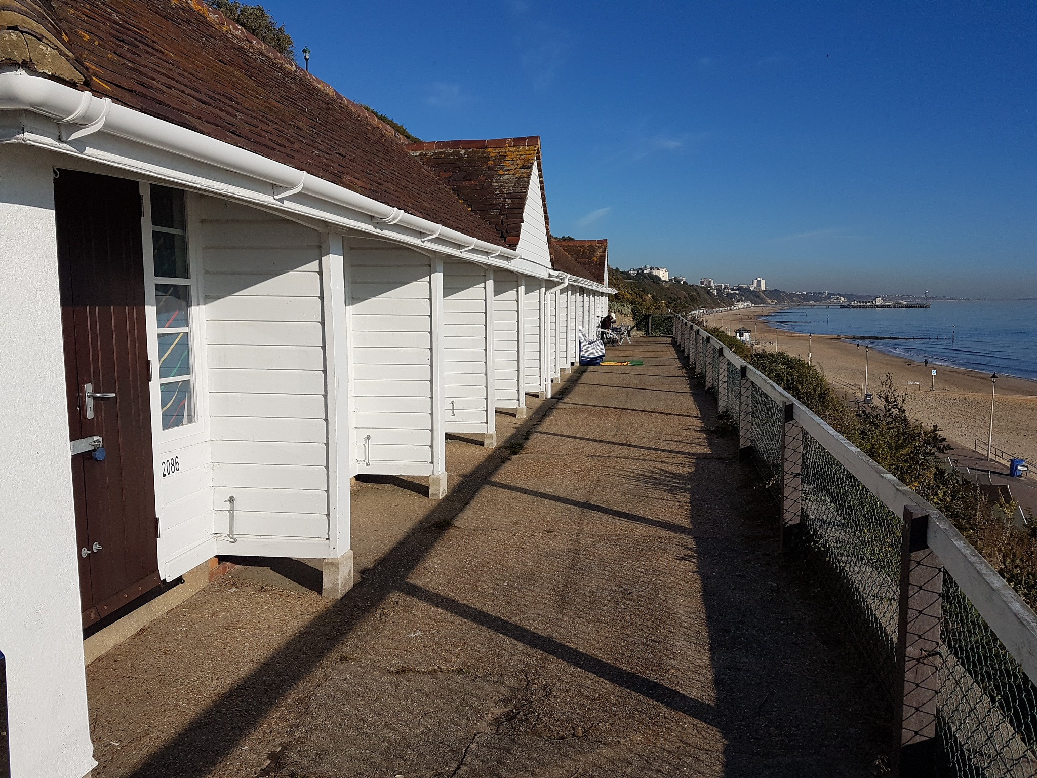 Beach huts. by DonaldCusack