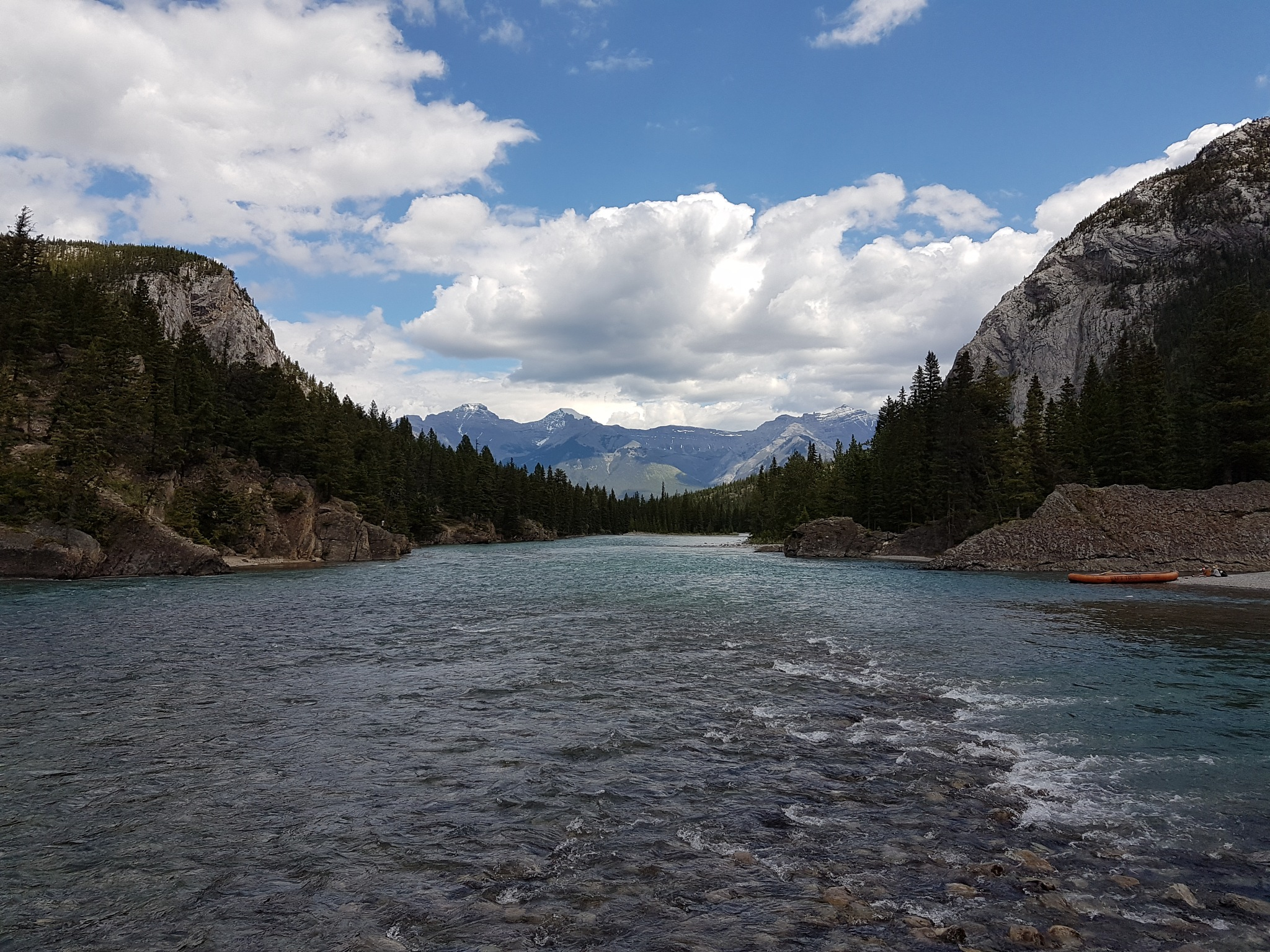 The Bow River. by DonaldCusack