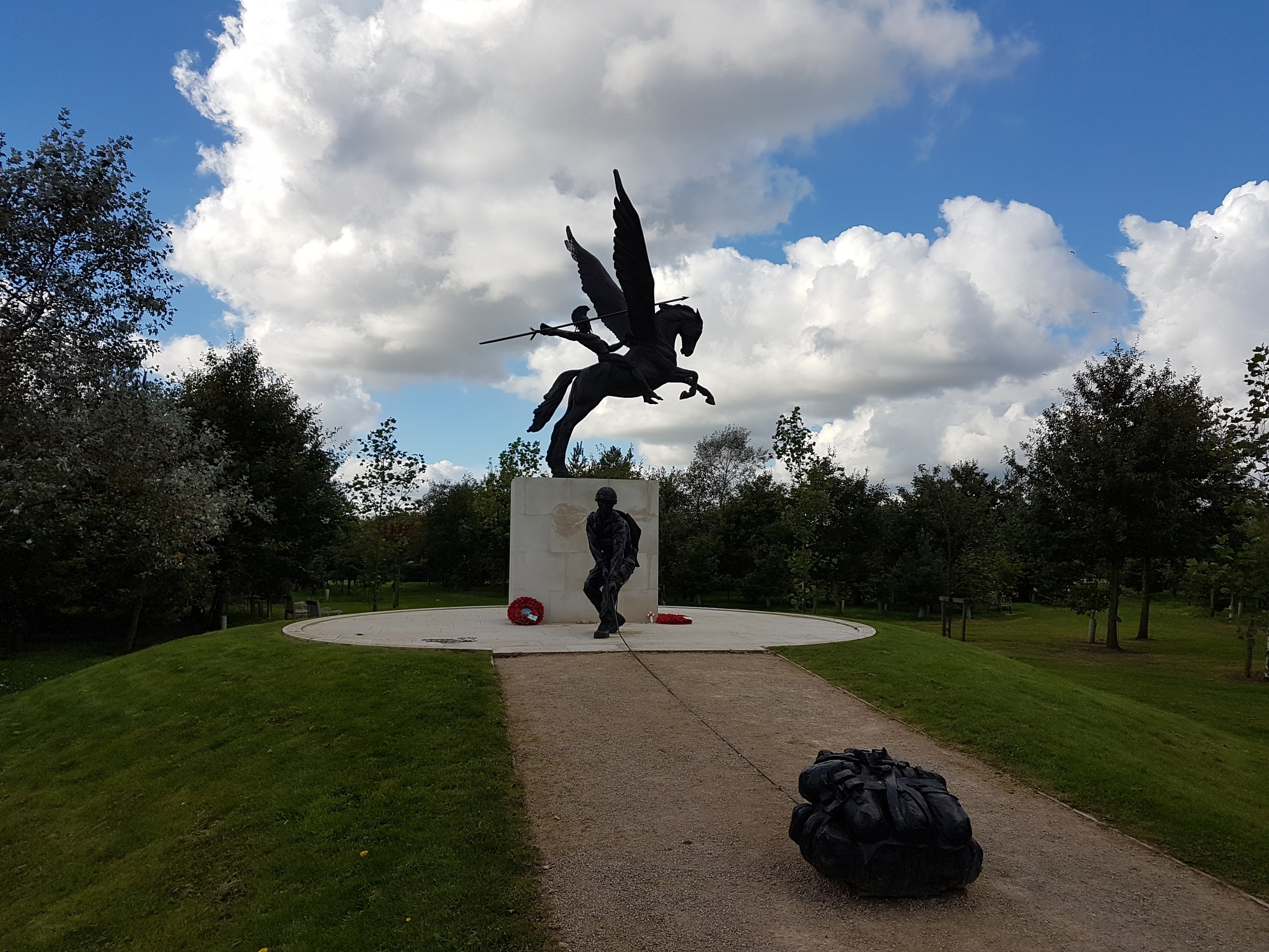 The Parachute Regiment Memorial. by DonaldCusack