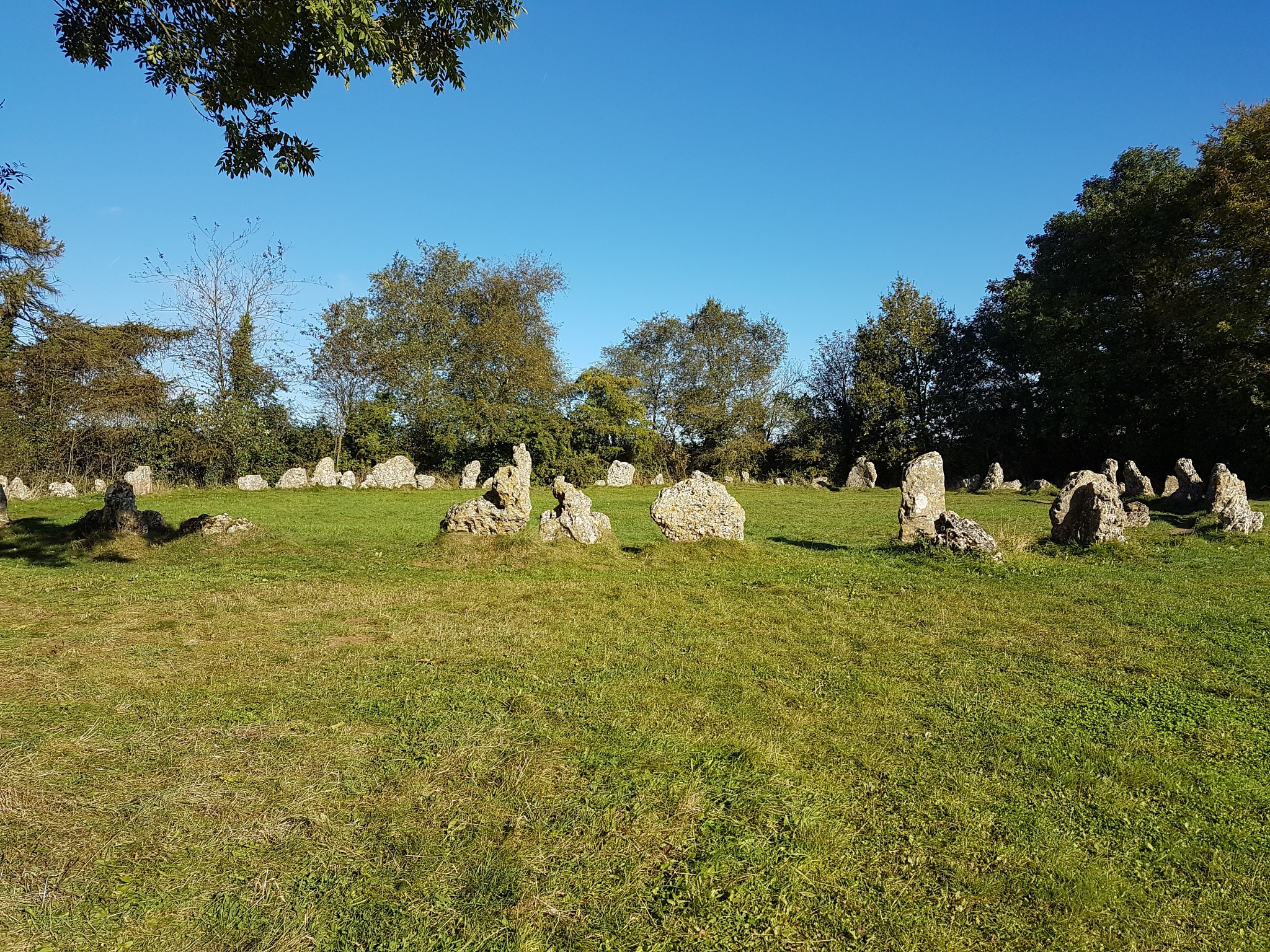 Rollright Stones. by DonaldCusack