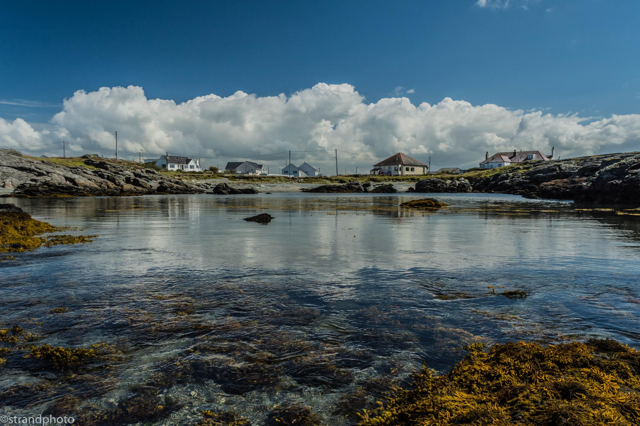 Peaceful August Bay by Trond Strand