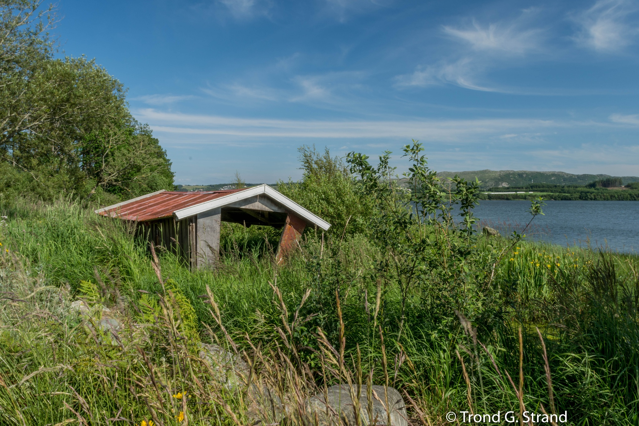 The old boat house by Trond Strand