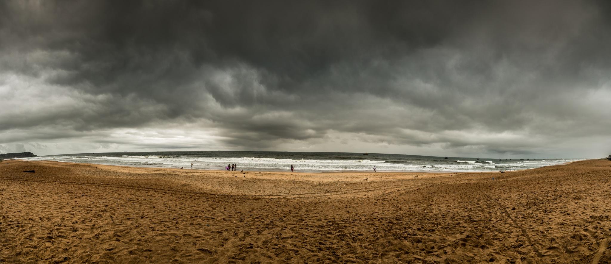 Calangute Beach by Nikhil Mace