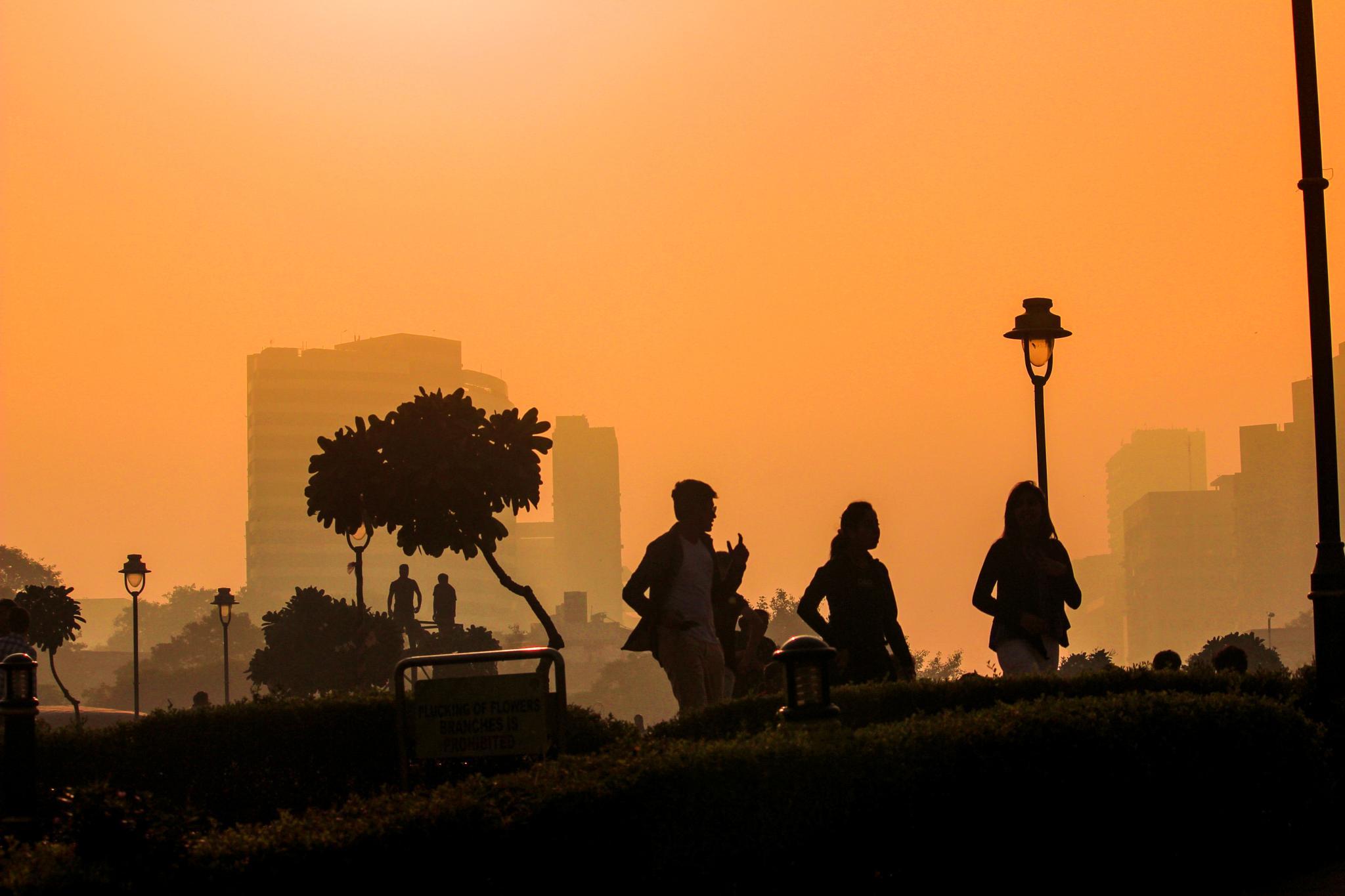 Morning Street by Nikhil Mace