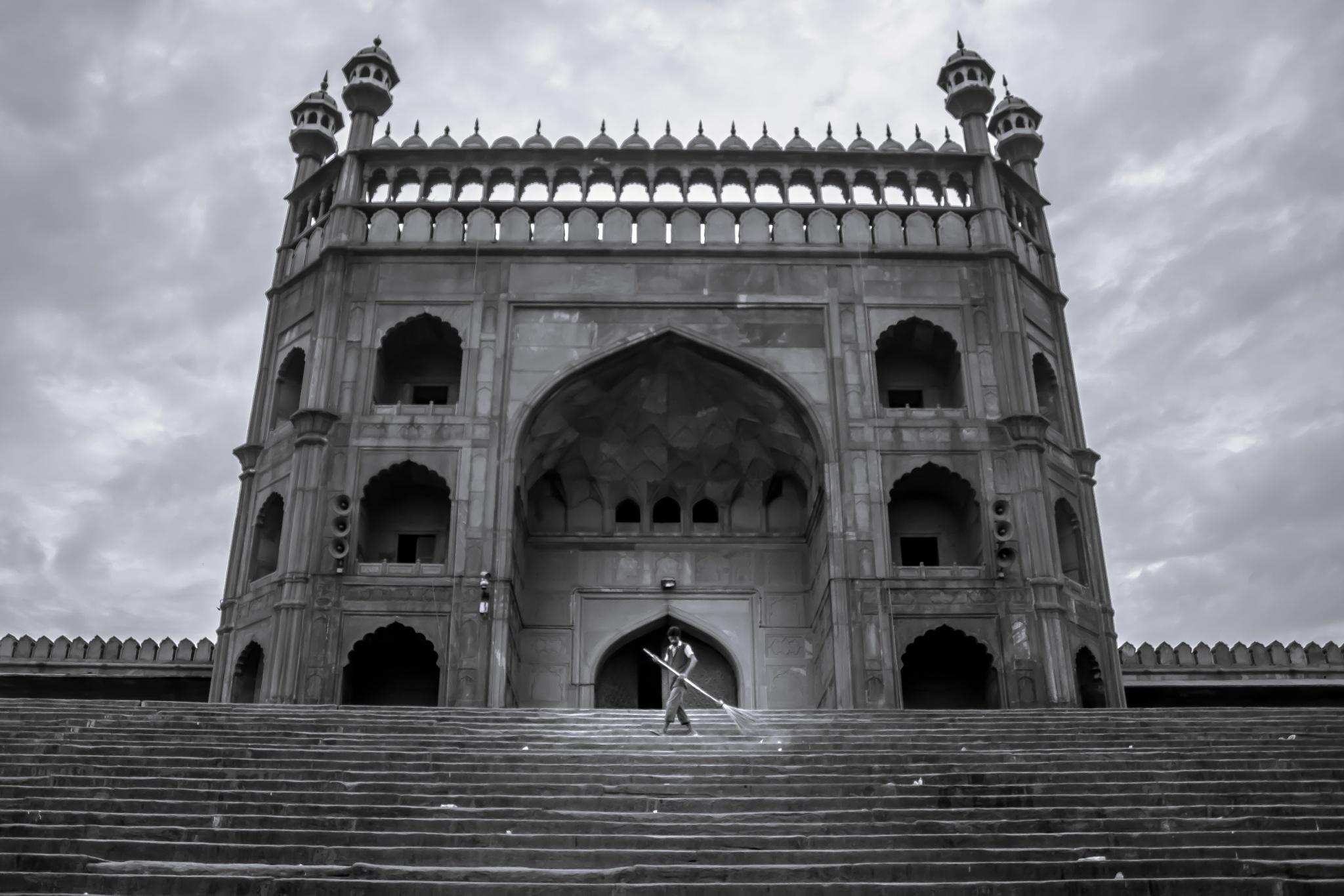 Jama Masjid by Nikhil Mace