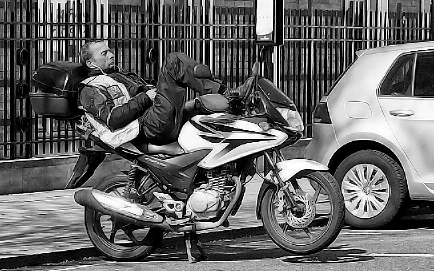 Taking It Easy-Rider by canonsnapper