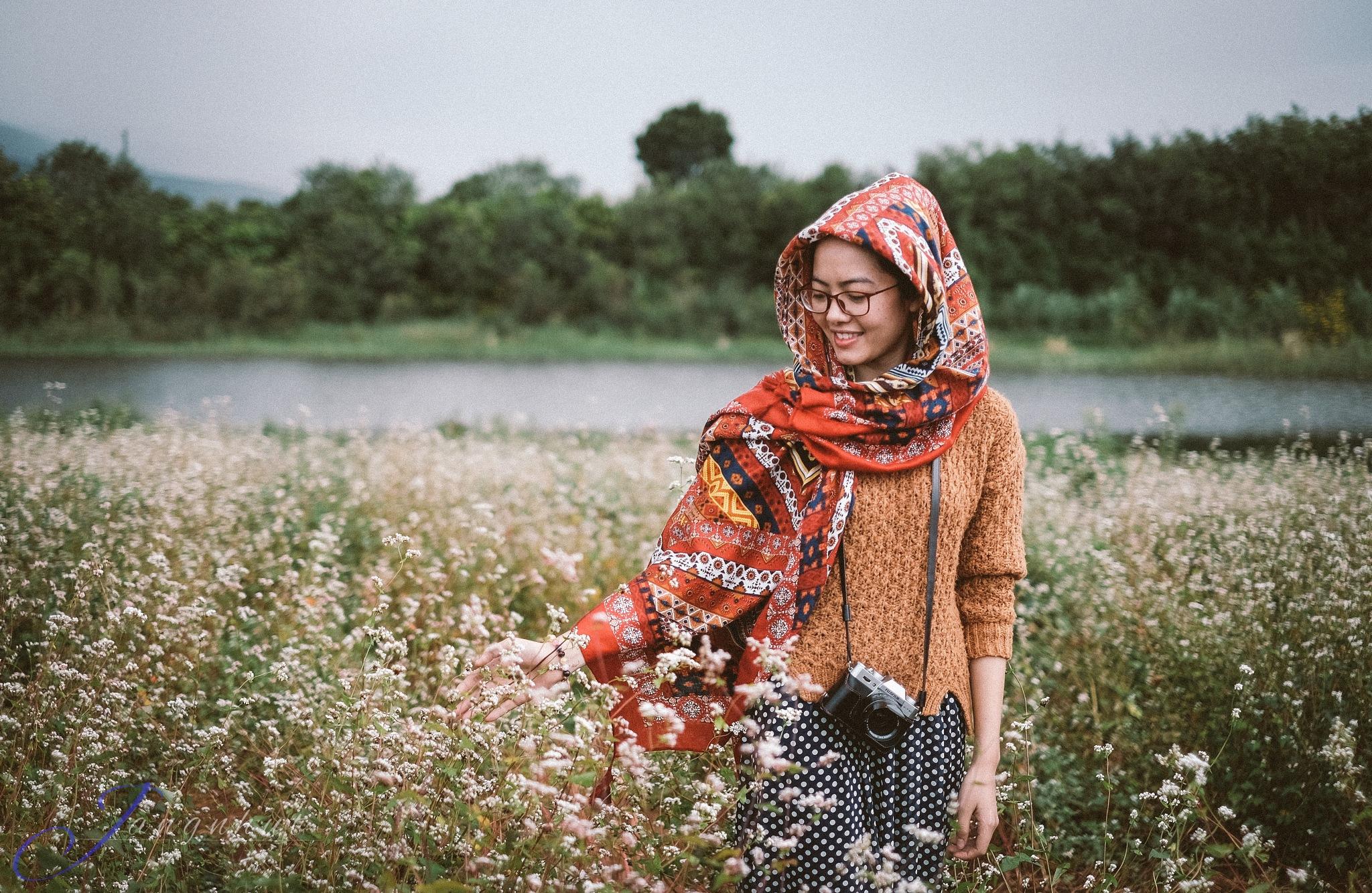 Smile girl by Jangnhut